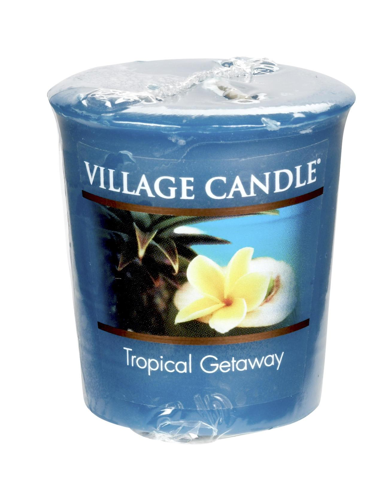 Village Candle Votivní svíčka Village Candle - Tropical Getaway