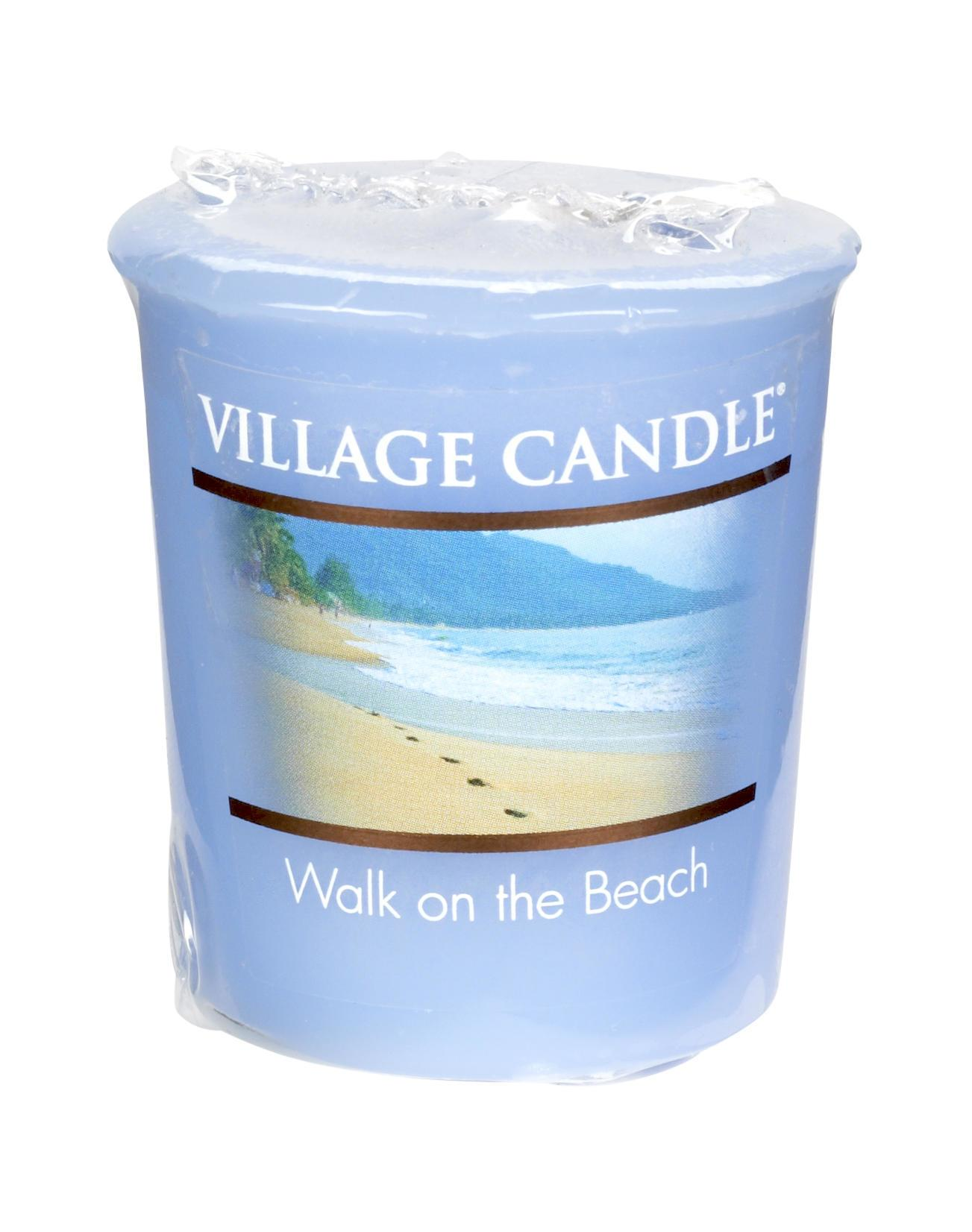 Village Candle Votivní svíčka Village Candle - Walk on the beach