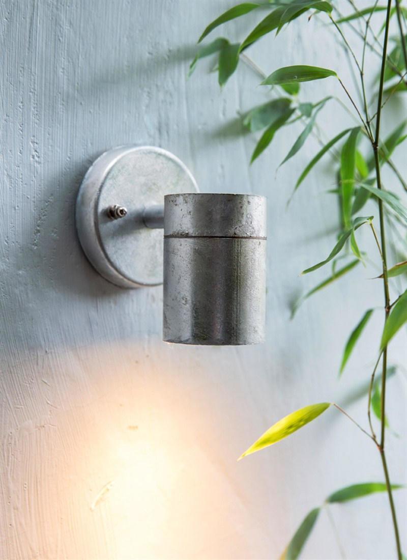 Garden Trading Venkovní světlo St Ives Down, stříbrná barva, kov
