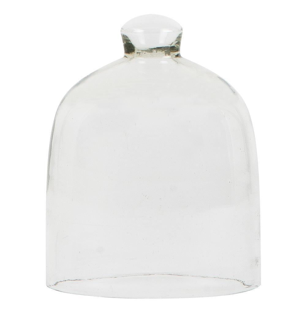IB LAURSEN Malý skleněný poklop 13 cm, čirá barva, sklo