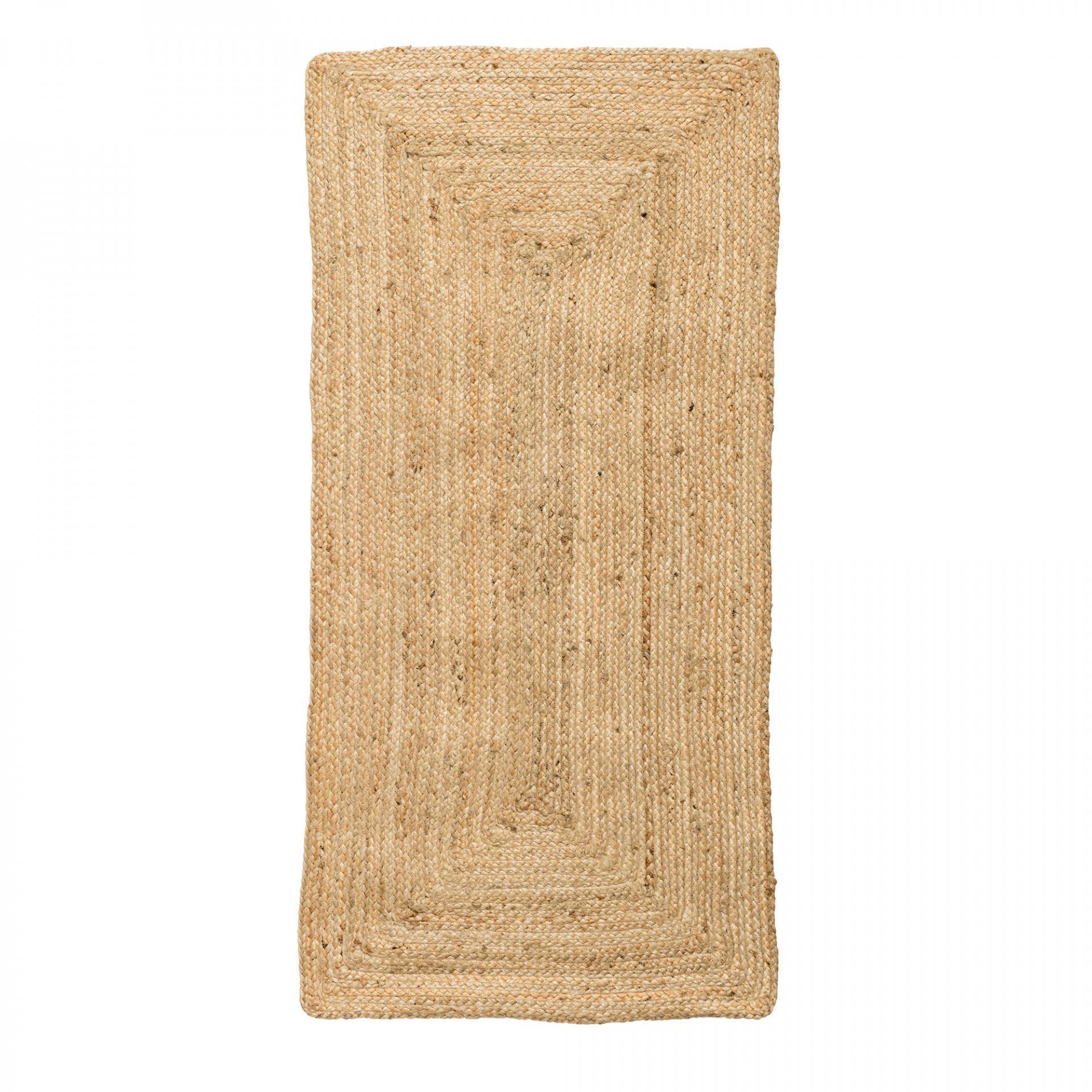 Bloomingville Jutový koberec Nature 60x120 Hnědá