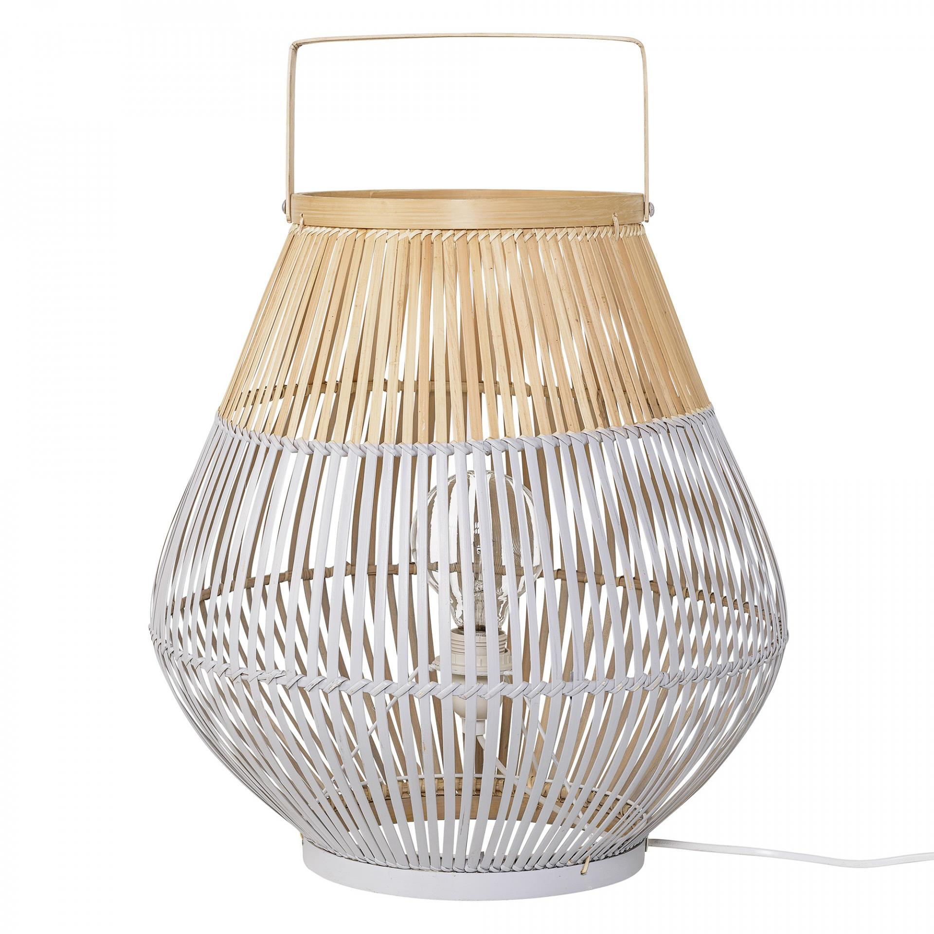 Bloomingville Stojací lampa Bamboo