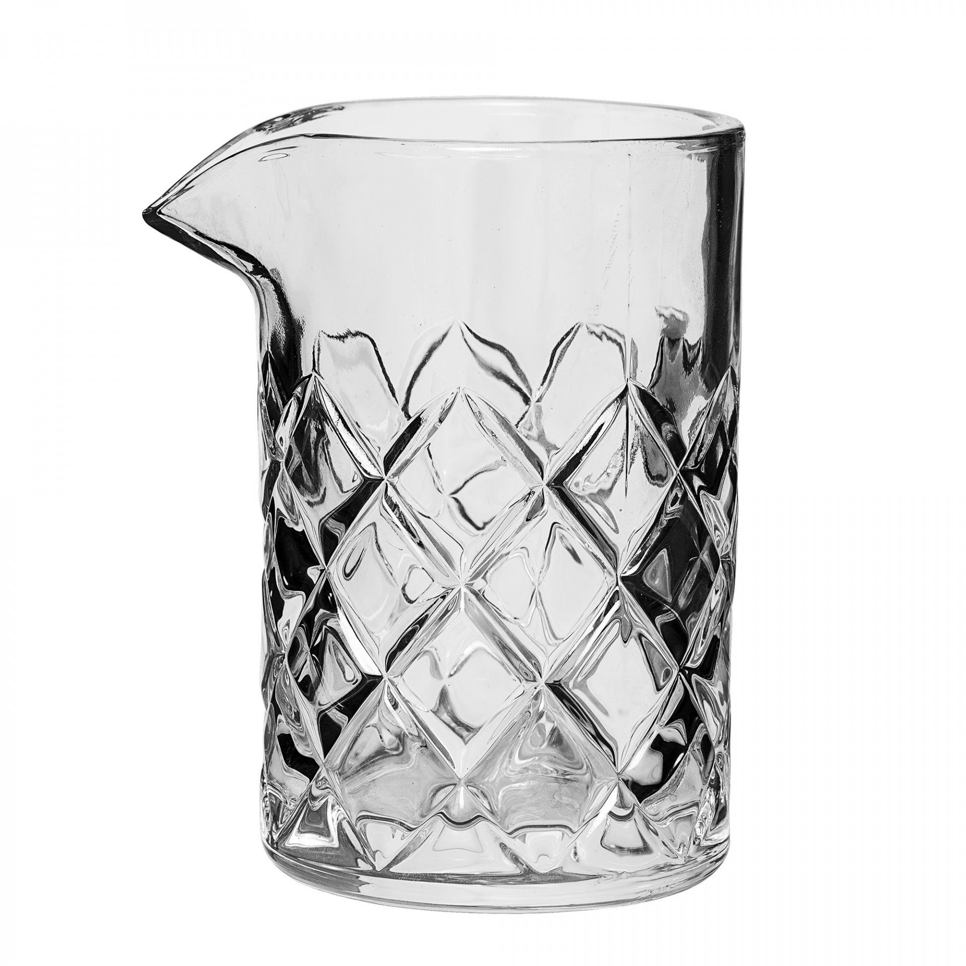 Bloomingville Skleněný džbánek na mléko Clear, čirá barva, sklo