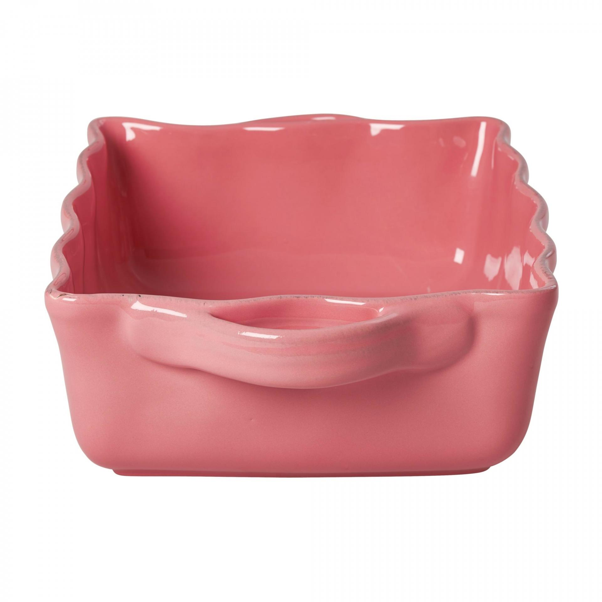 rice Keramická zapékací mísa Coral - velká, růžová barva, oranžová barva, keramika