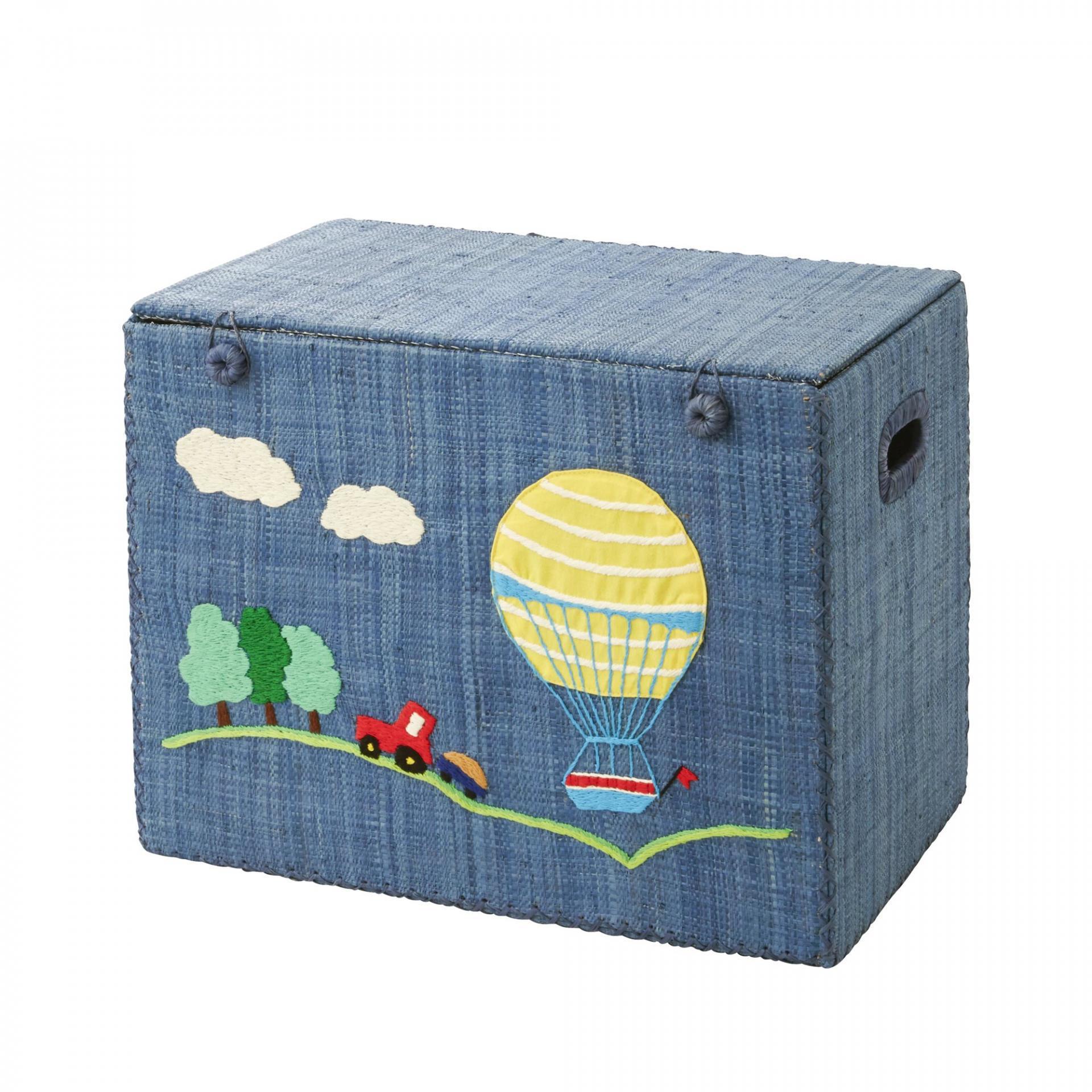 Rice Skládací krabice na hračky Air Balloon