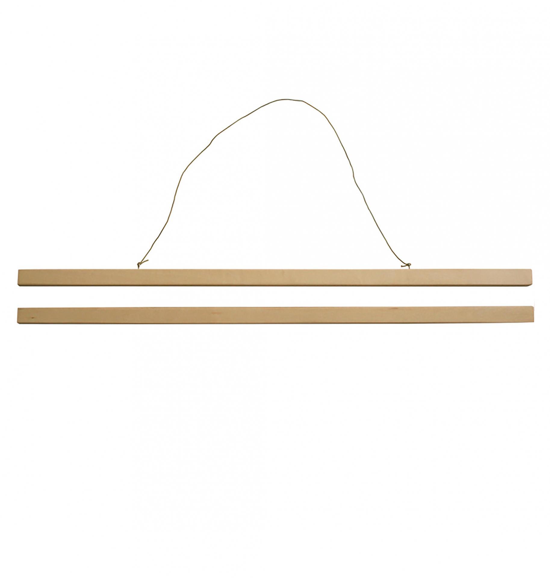 A Little Lovely Company Dřevěný magnetický rám 50 x 70 cm, béžová barva, dřevo