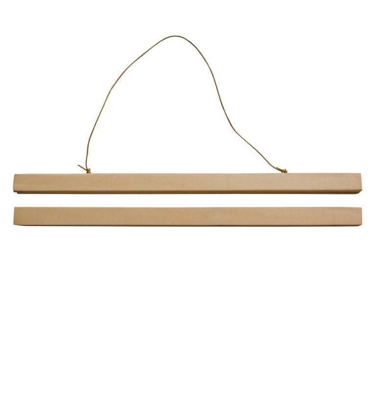 A Little Lovely Company Dřevěný magnetický rámeček A3, béžová barva, dřevo