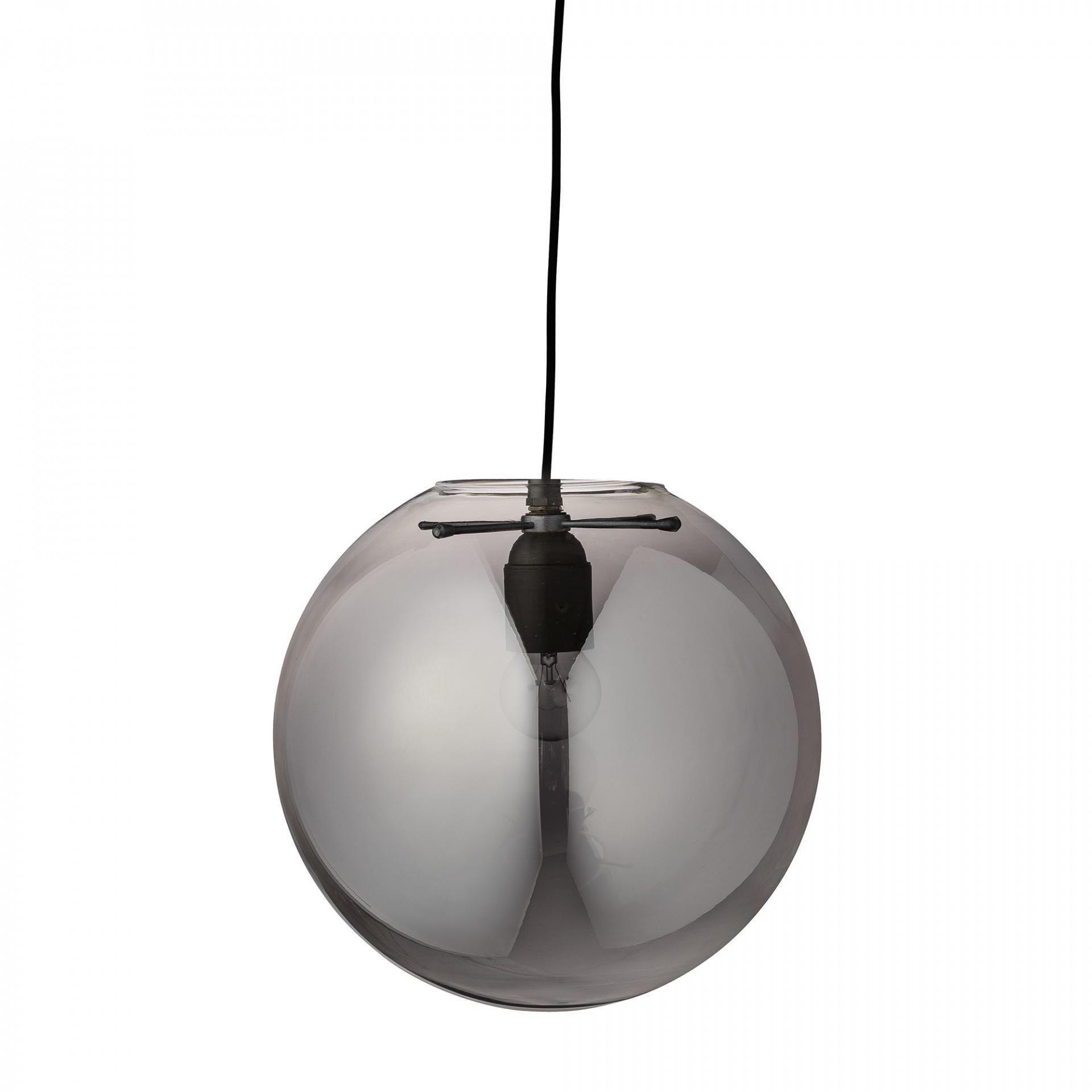 Bloomingville Lampa Smoke glass