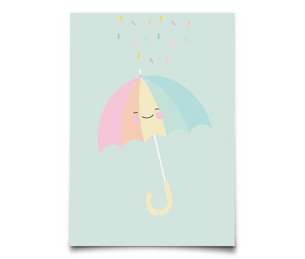 09ab4d4434f EEF lillemor Pohlednice Umbrella