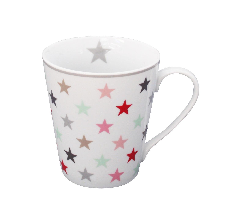 Krasilnikoff Hrneček Multi stars, multi barva, keramika