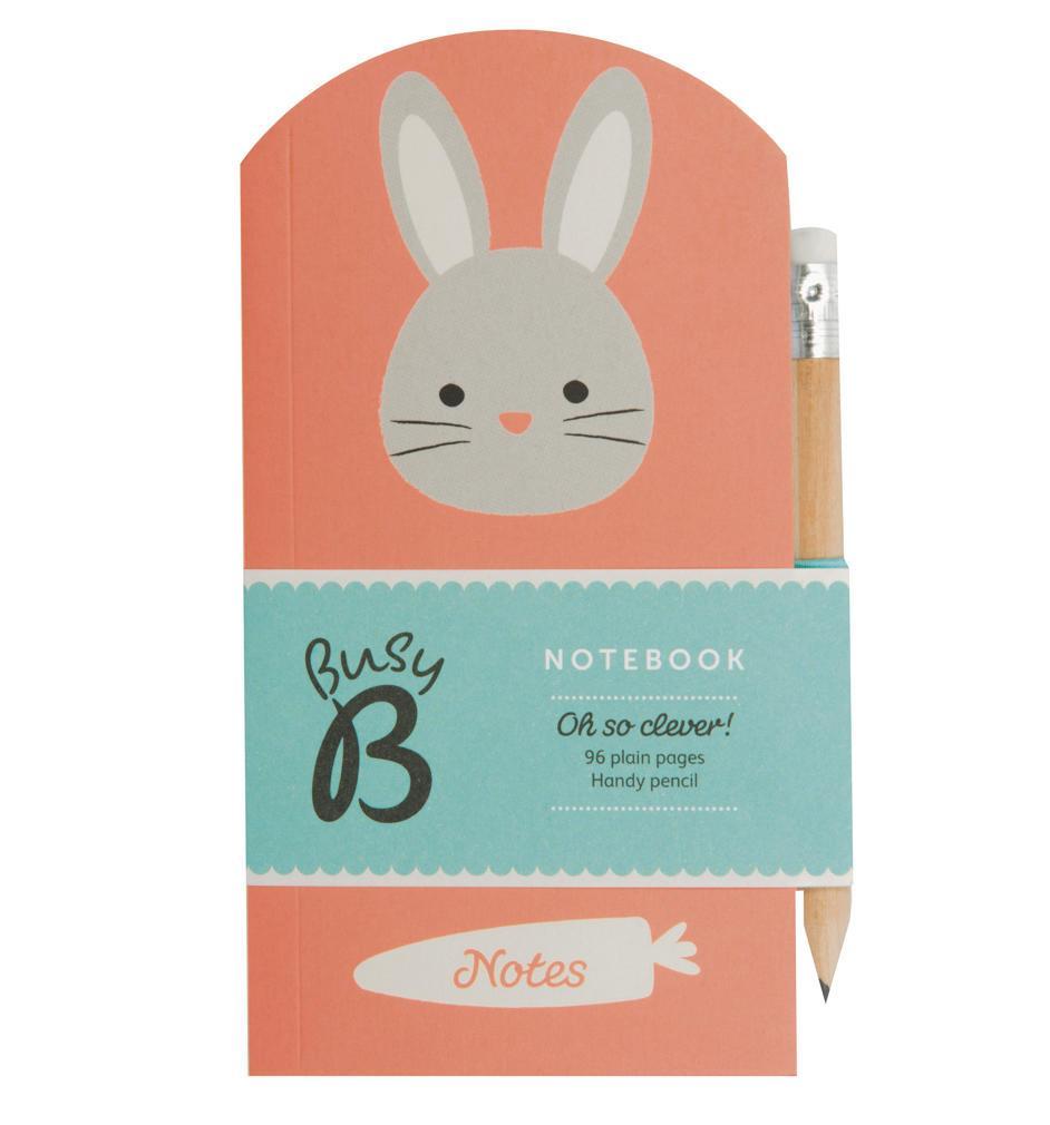 Busy B Poznámkový bloček s tužkou Bunny Cute