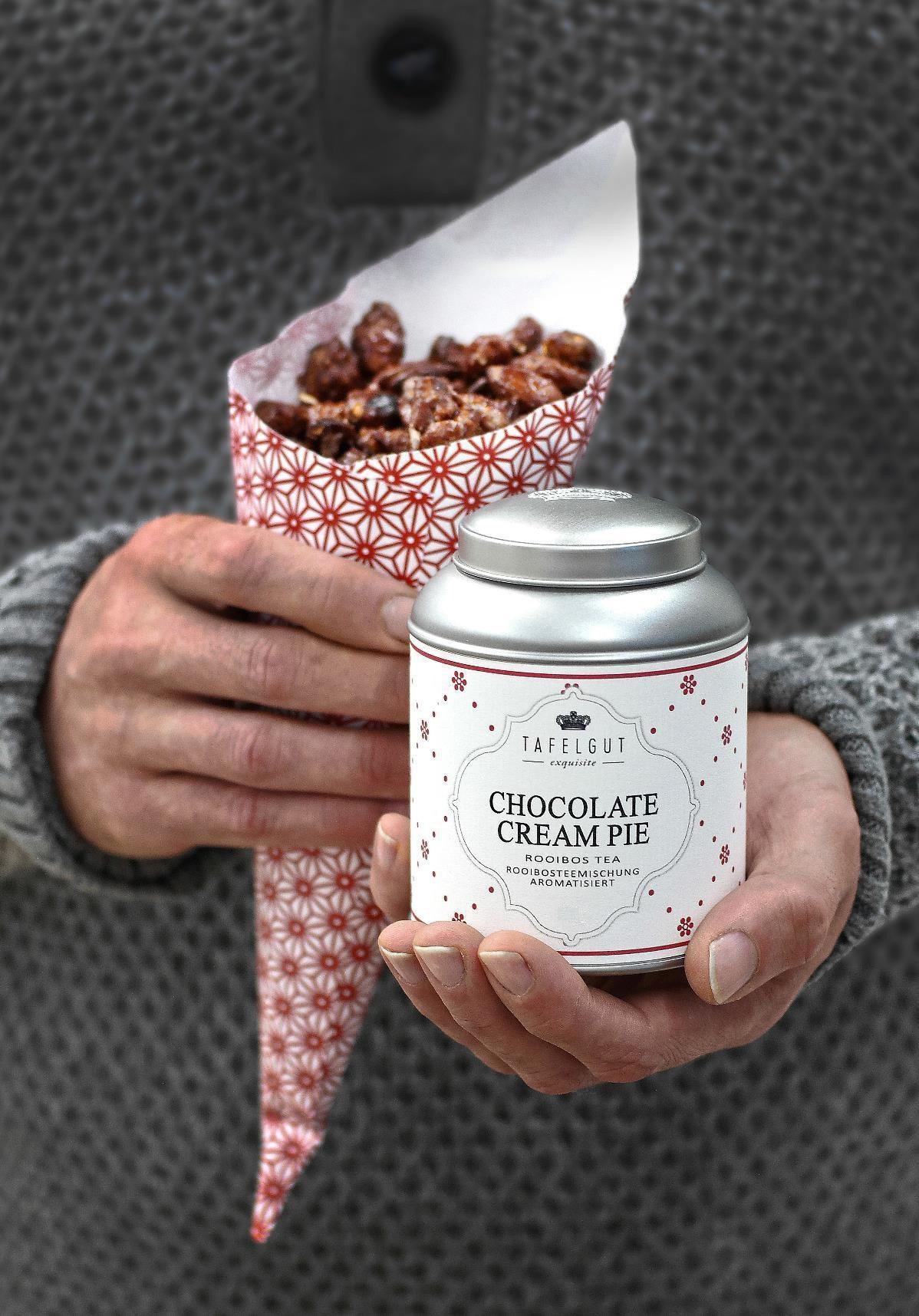 TAFELGUT Mini roobios čaj Chocolate cream pie - 35 gr, červená barva, kov