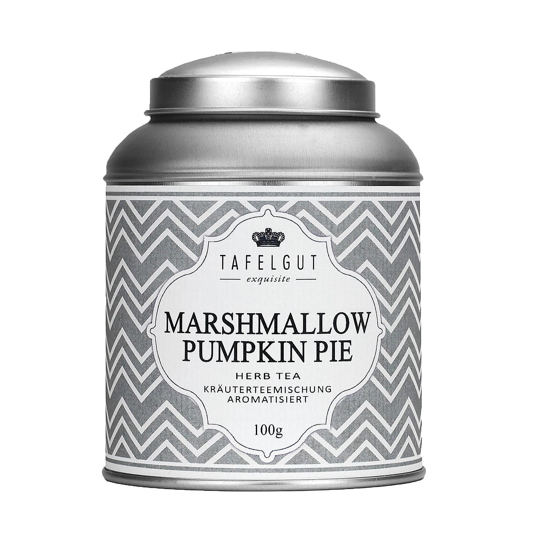 TAFELGUT Bylinný čaj Marshmallow pumpkin tea - 100gr, šedá barva, kov