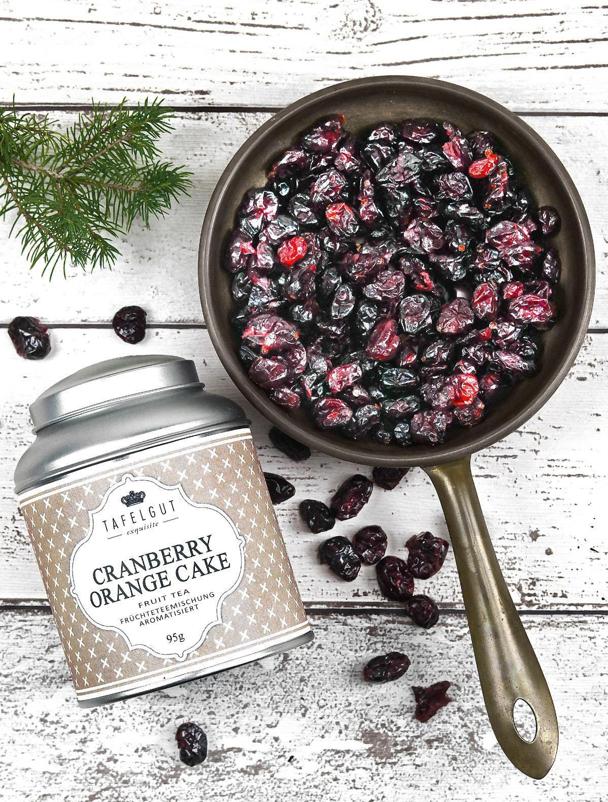 TAFELGUT Ovocný čaj Cranberry orange cake - 95gr