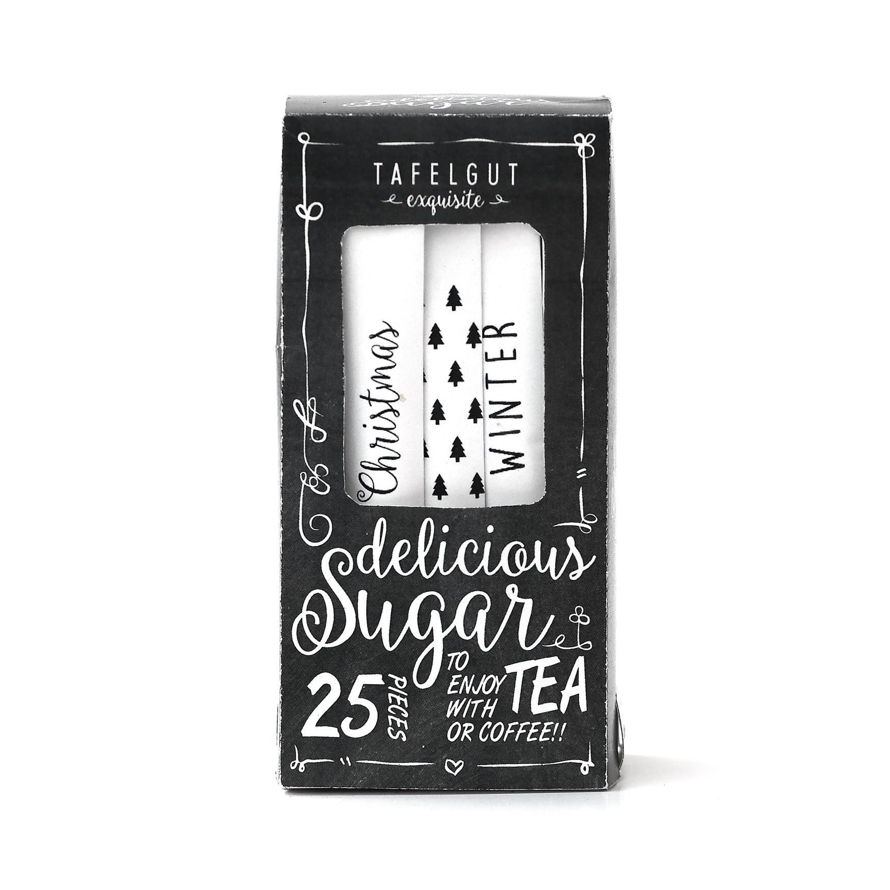TAFELGUT Bílý cukr v sáčcích Christmas winter - 25 x 5gr
