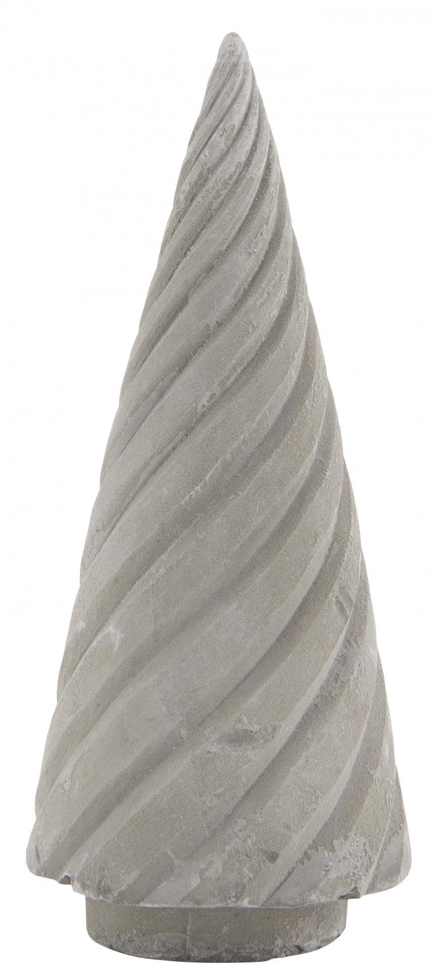 IB LAURSEN Dekorativní vánoční stromeček Concrete Small, šedá barva, beton