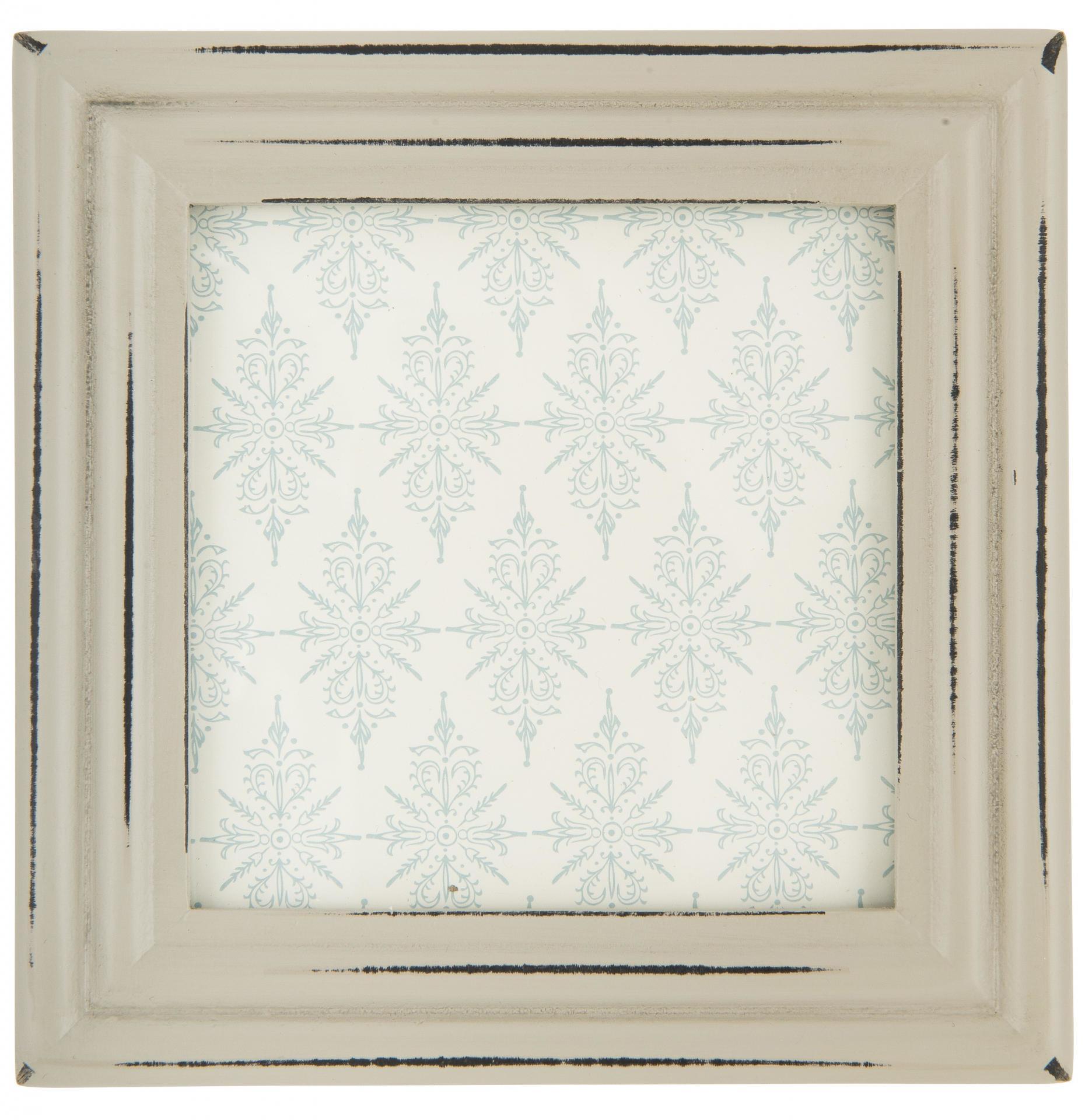 IB LAURSEN Dřevěný rámeček Mix-It Grey (foto 8,5x8,5 cm), šedá barva, dřevo