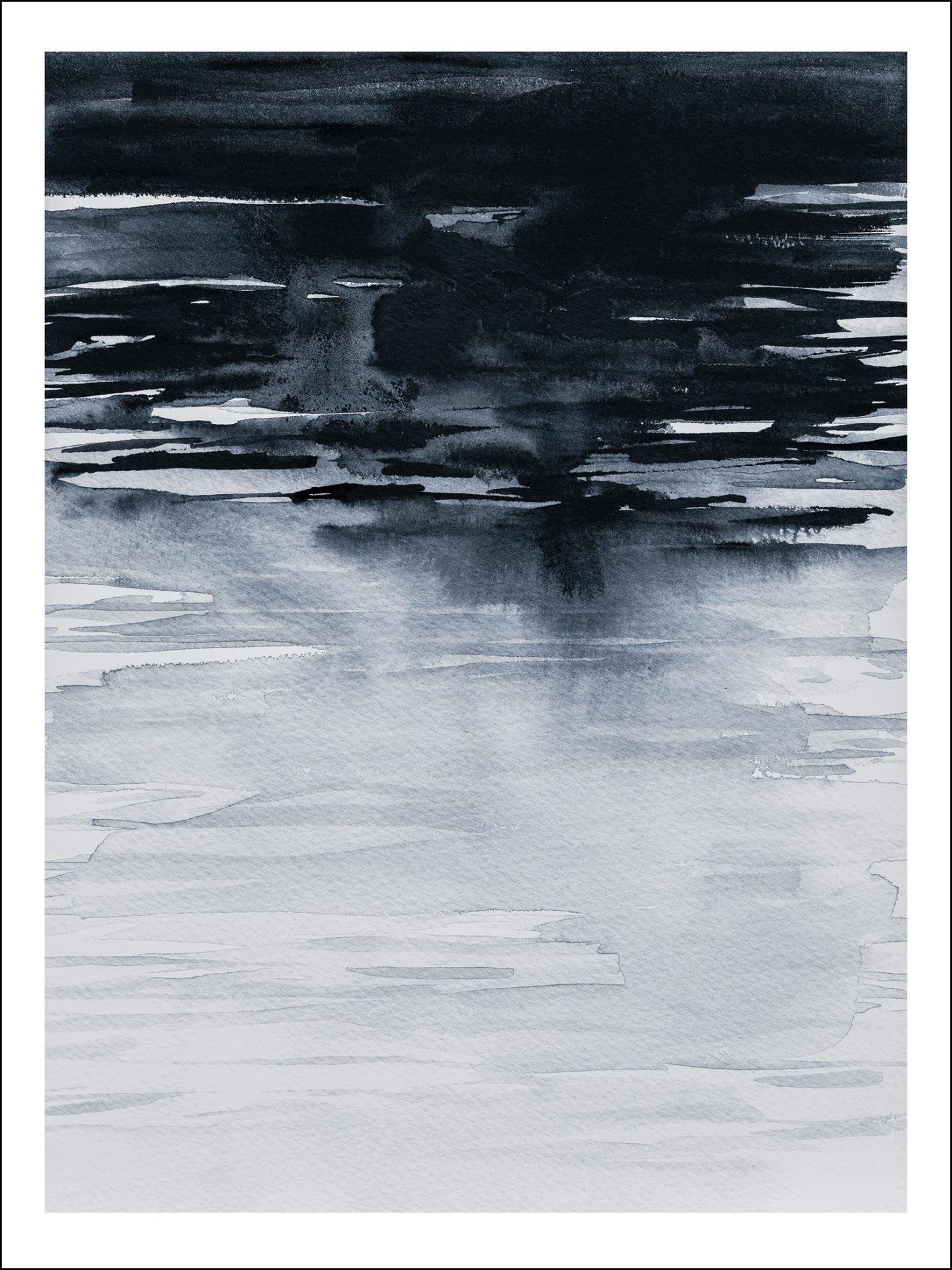 Magdalena Tyboni DESIGN Plakát Nature Blue 50x70 cm