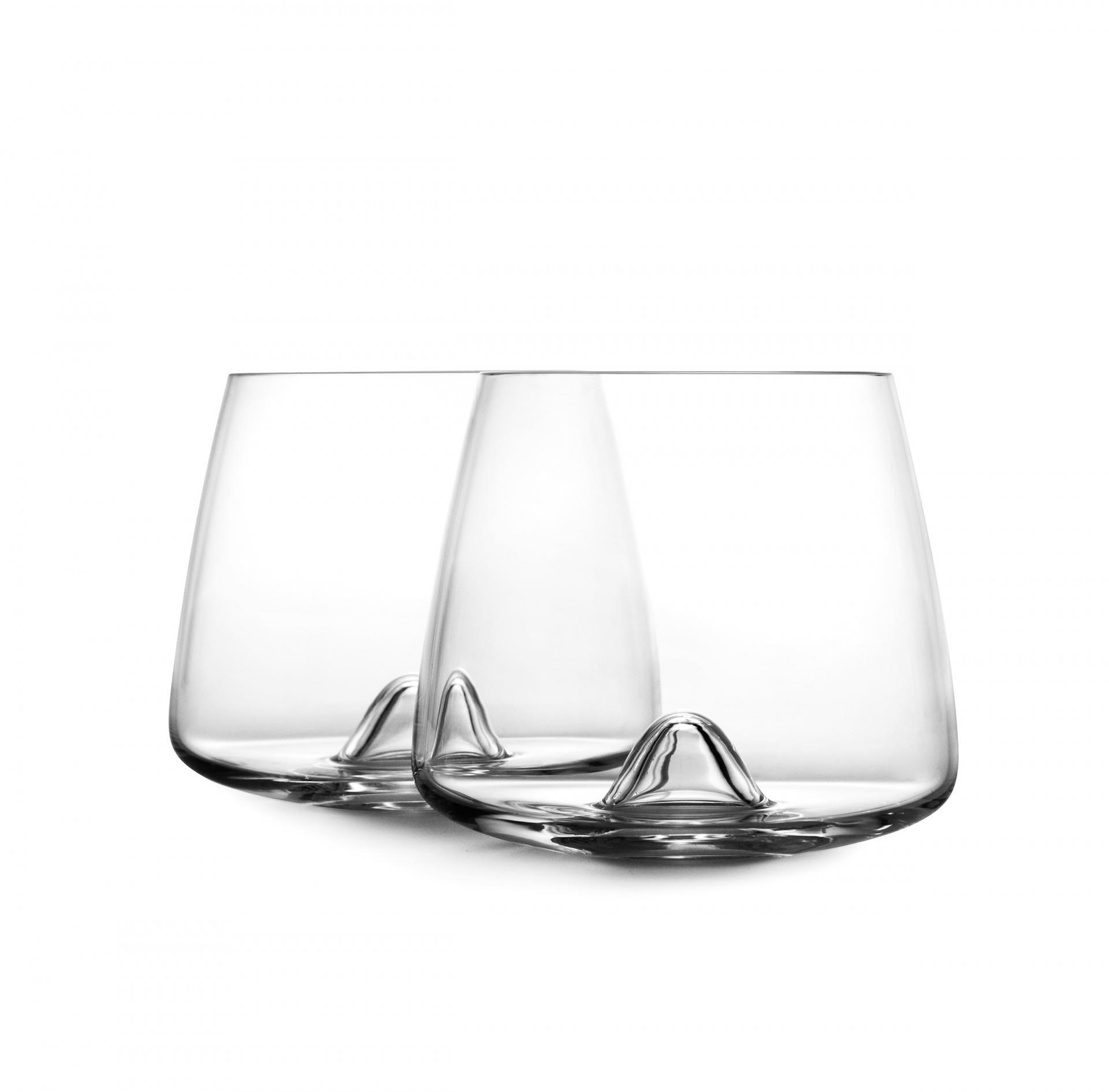normann COPENHAGEN Skleničky na whisky Normann Copenhagen - set 2 ks, čirá barva, sklo