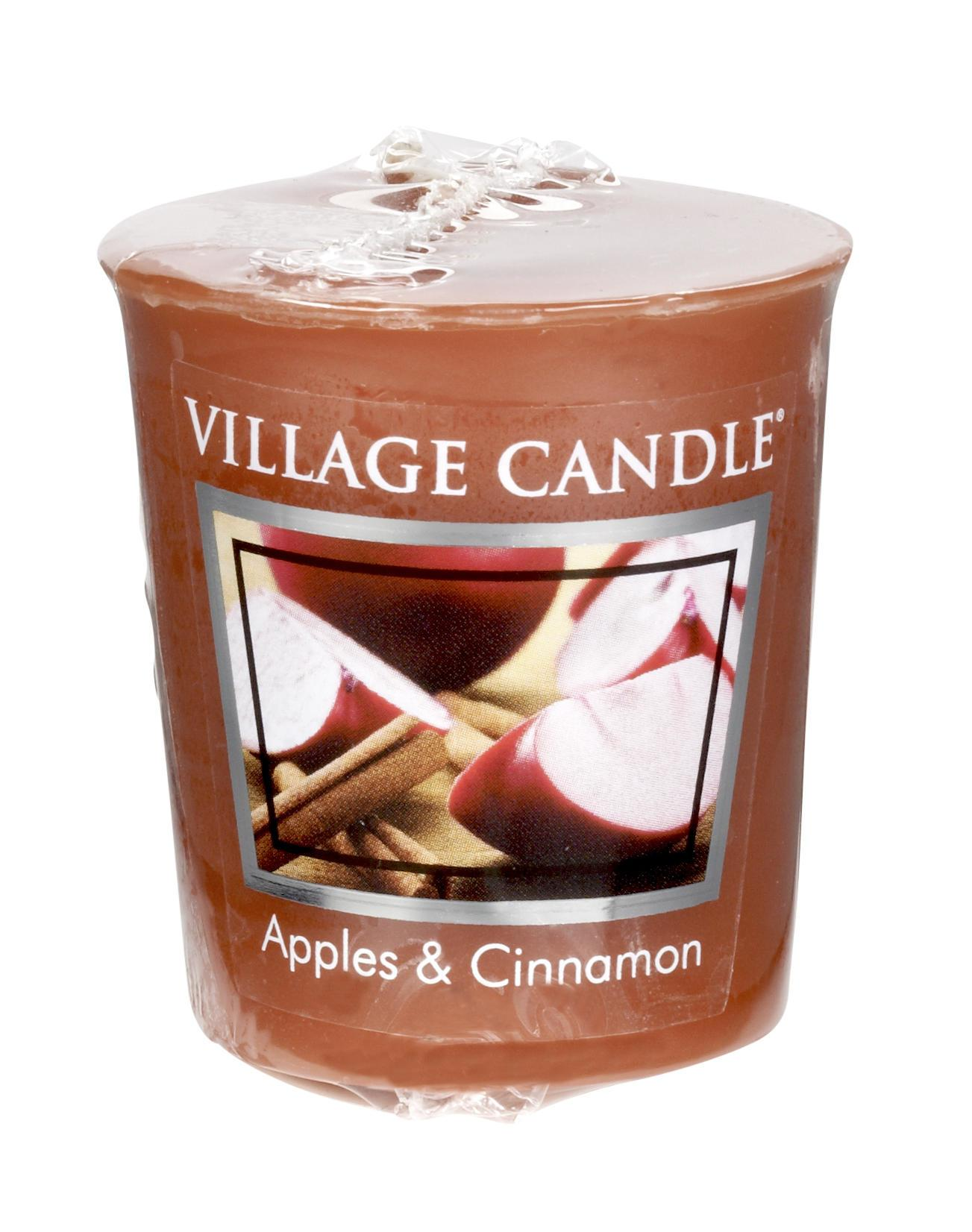 Village Candle Votivní svíčka Village Candle - Apple Cinnamon