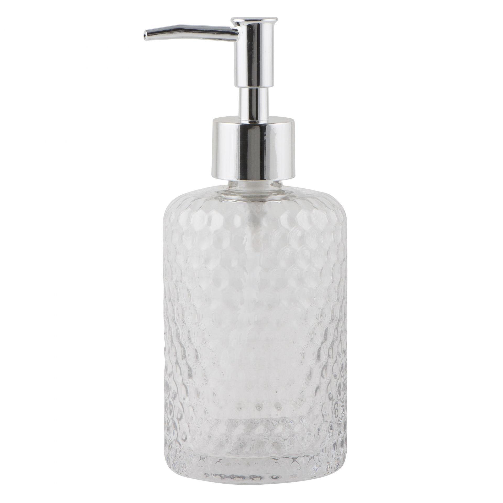IB LAURSEN Zásobník na mýdlo Clear glass, čirá barva, sklo, plast