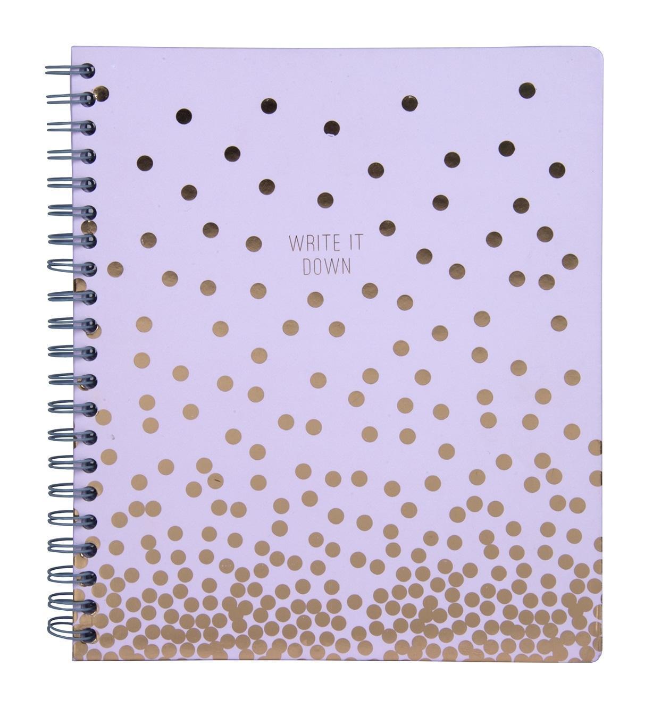 Tri-Coastal Design Notes v kroužkové vazbě Copper Dot 28 cm
