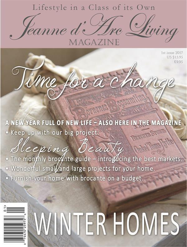 Jeanne d'Arc Living Časopis Jeanne d'Arc Living 1/2017 - anglická verze, multi barva, papír