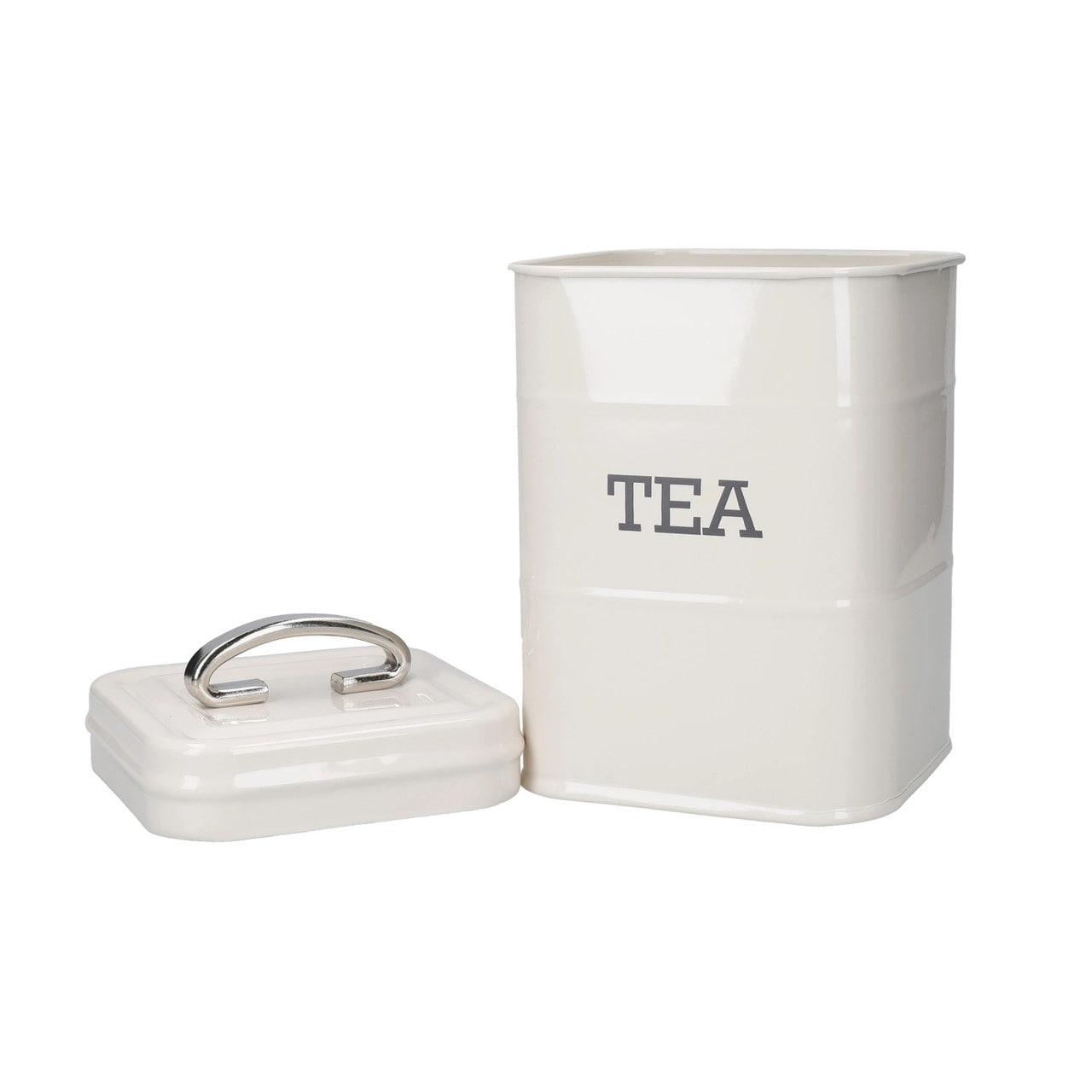 Kitchen Craft Plechová dóza na čaj Cream