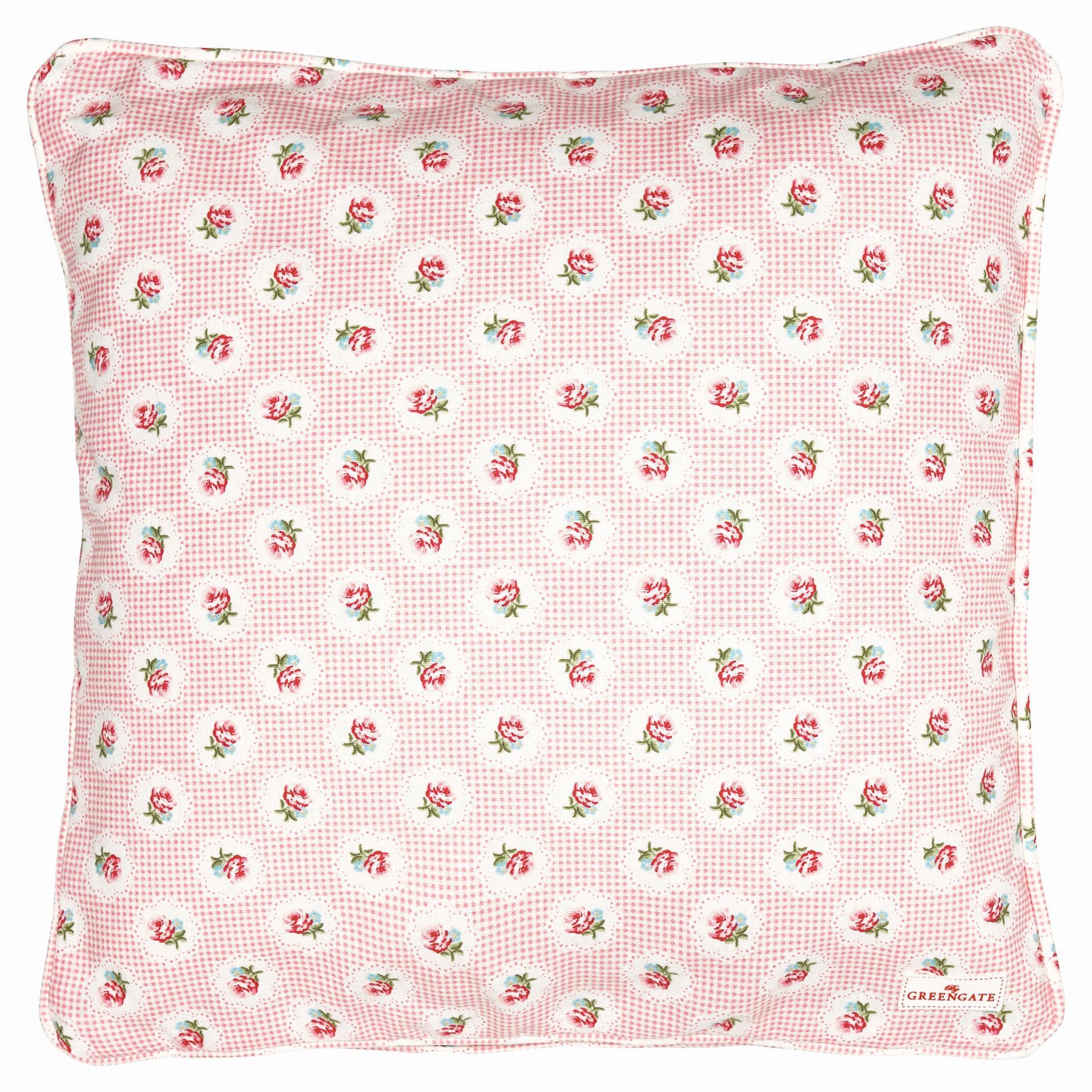 GREEN GATE Povlak na polštář Tammie pale pink 40x40, růžová barva, textil