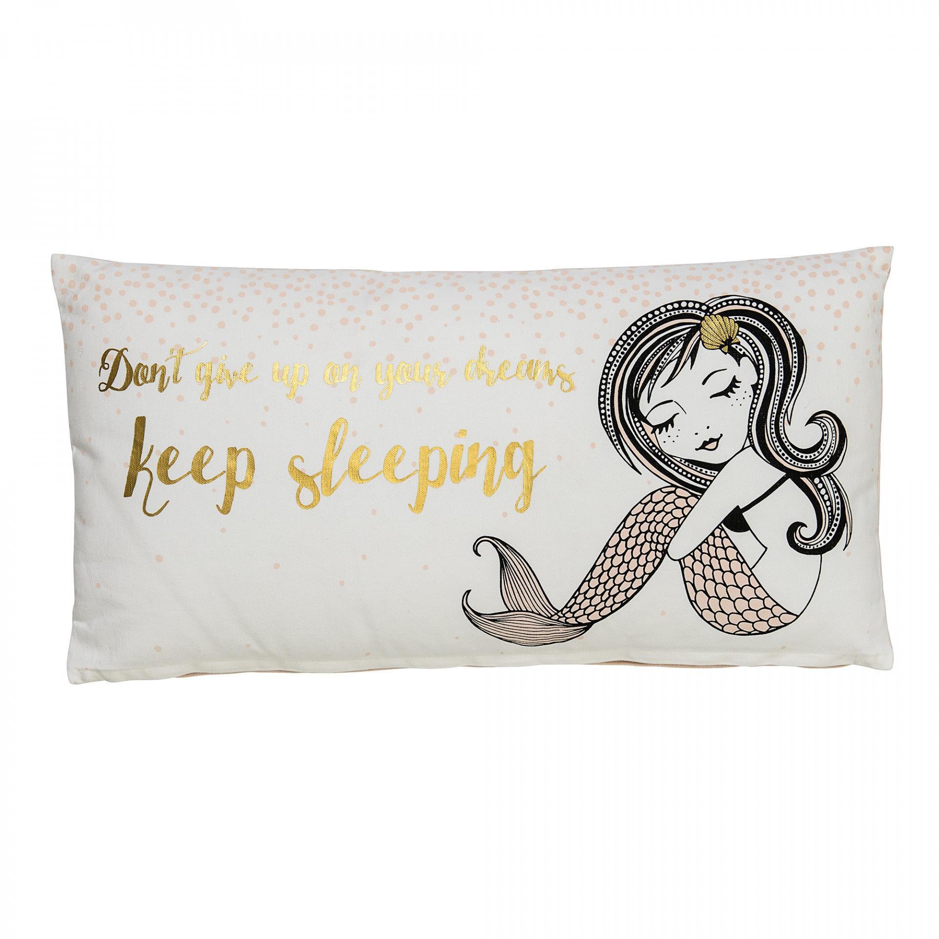 Bloomingville Dětský polštářek Keep sleeping