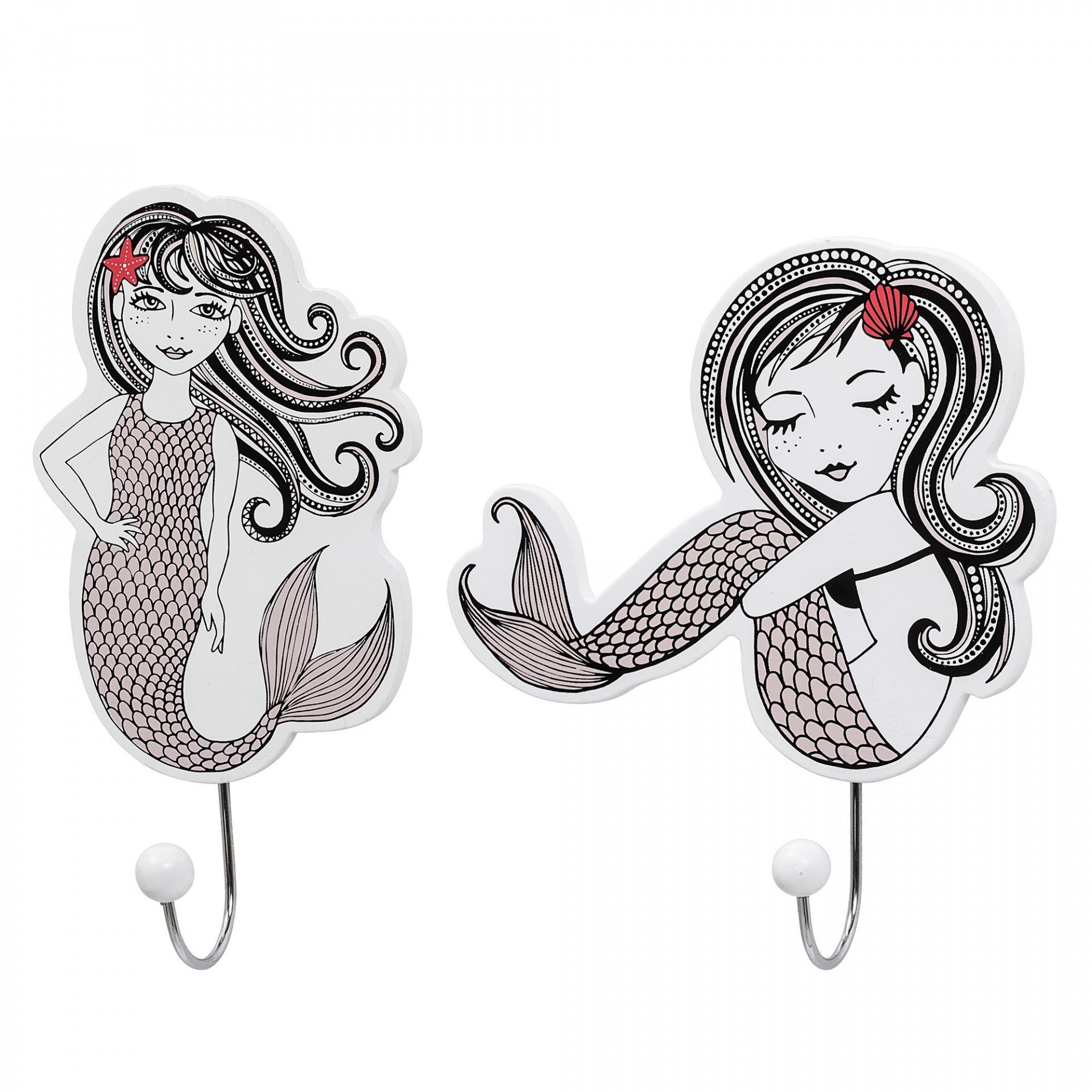 Bloomingville Dětský háček Mermaid Hvězdice ve vlasech