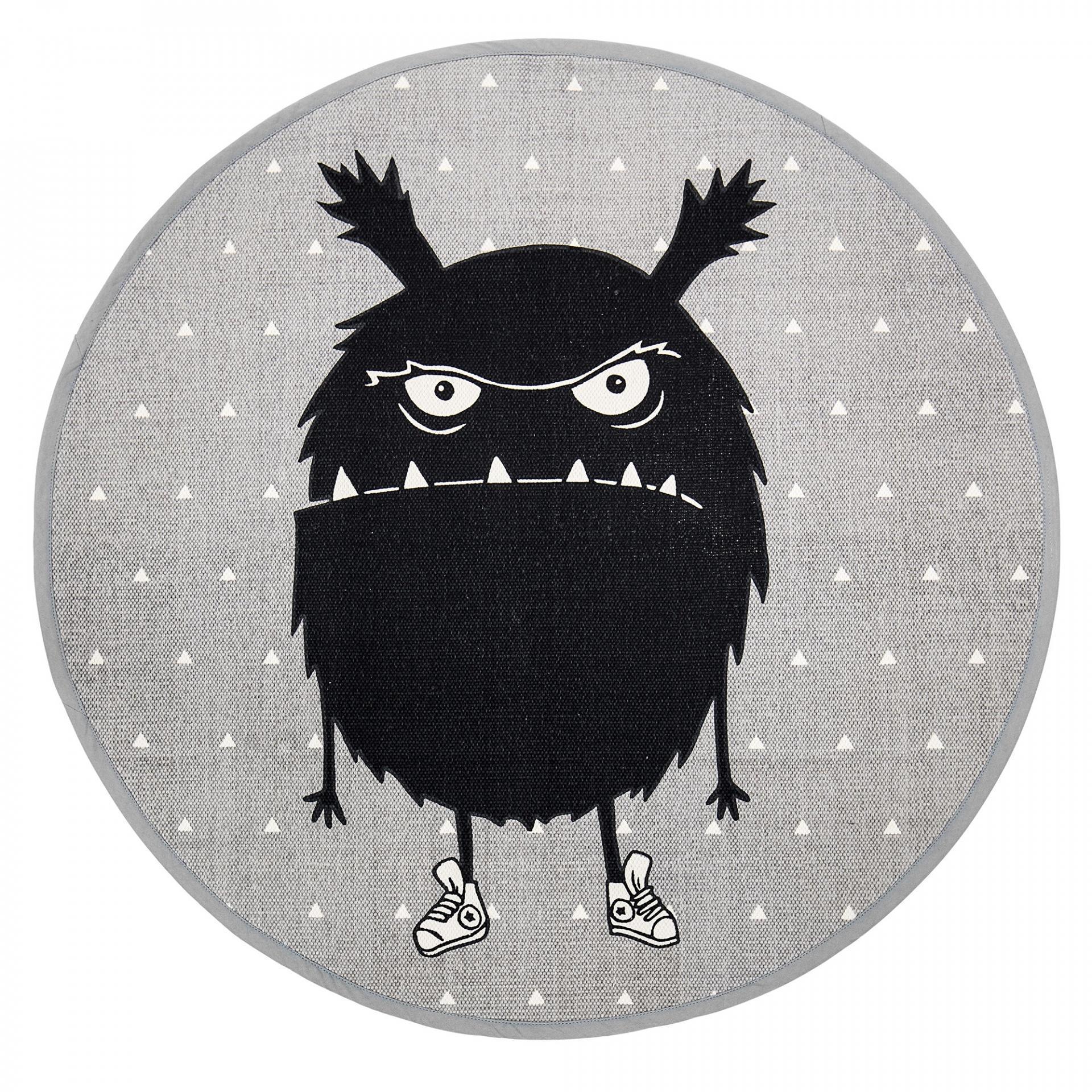 Bloomingville Kobereček do dětského pokoje Monster Grey