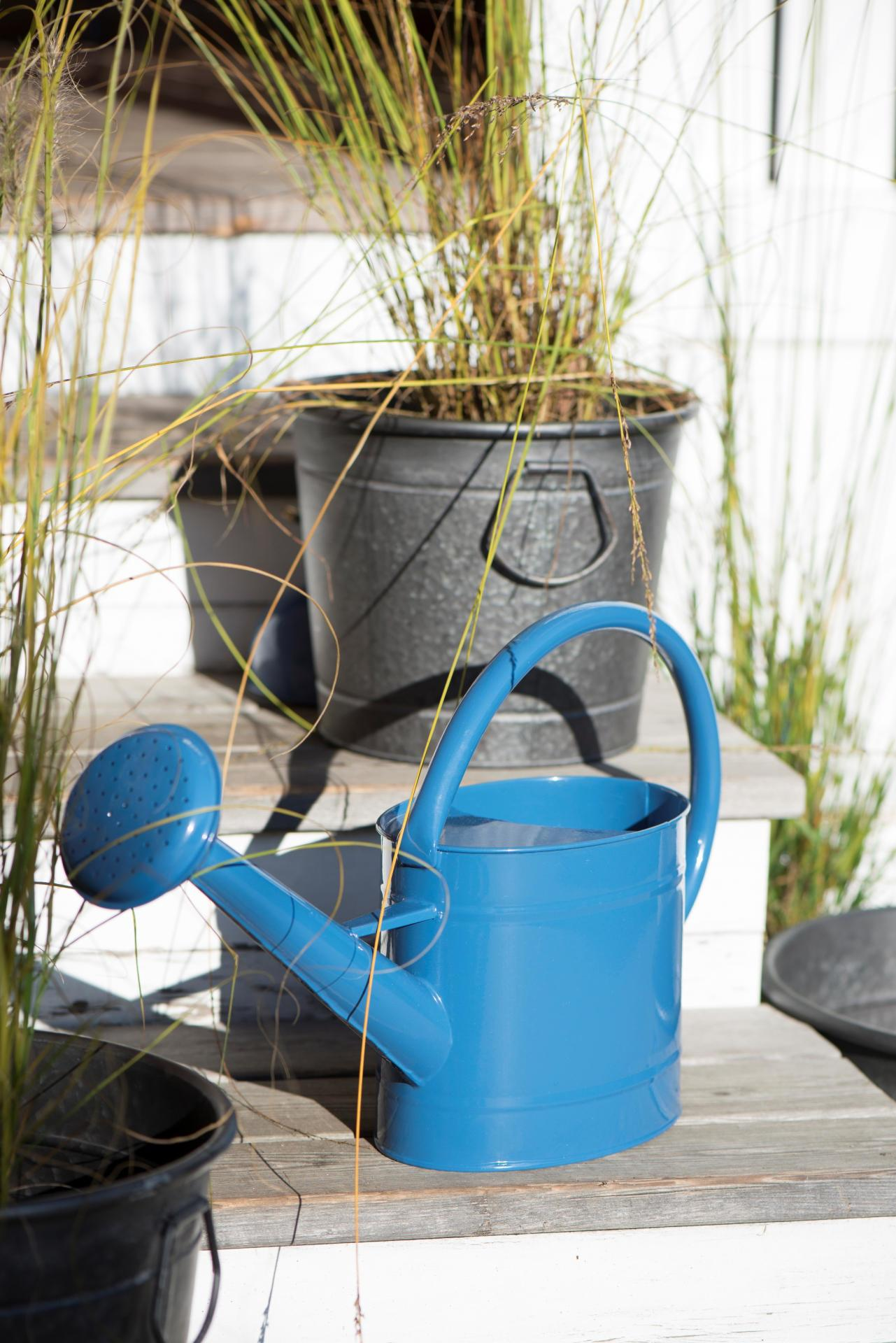 IB LAURSEN Zahradní konev Blue 5 l