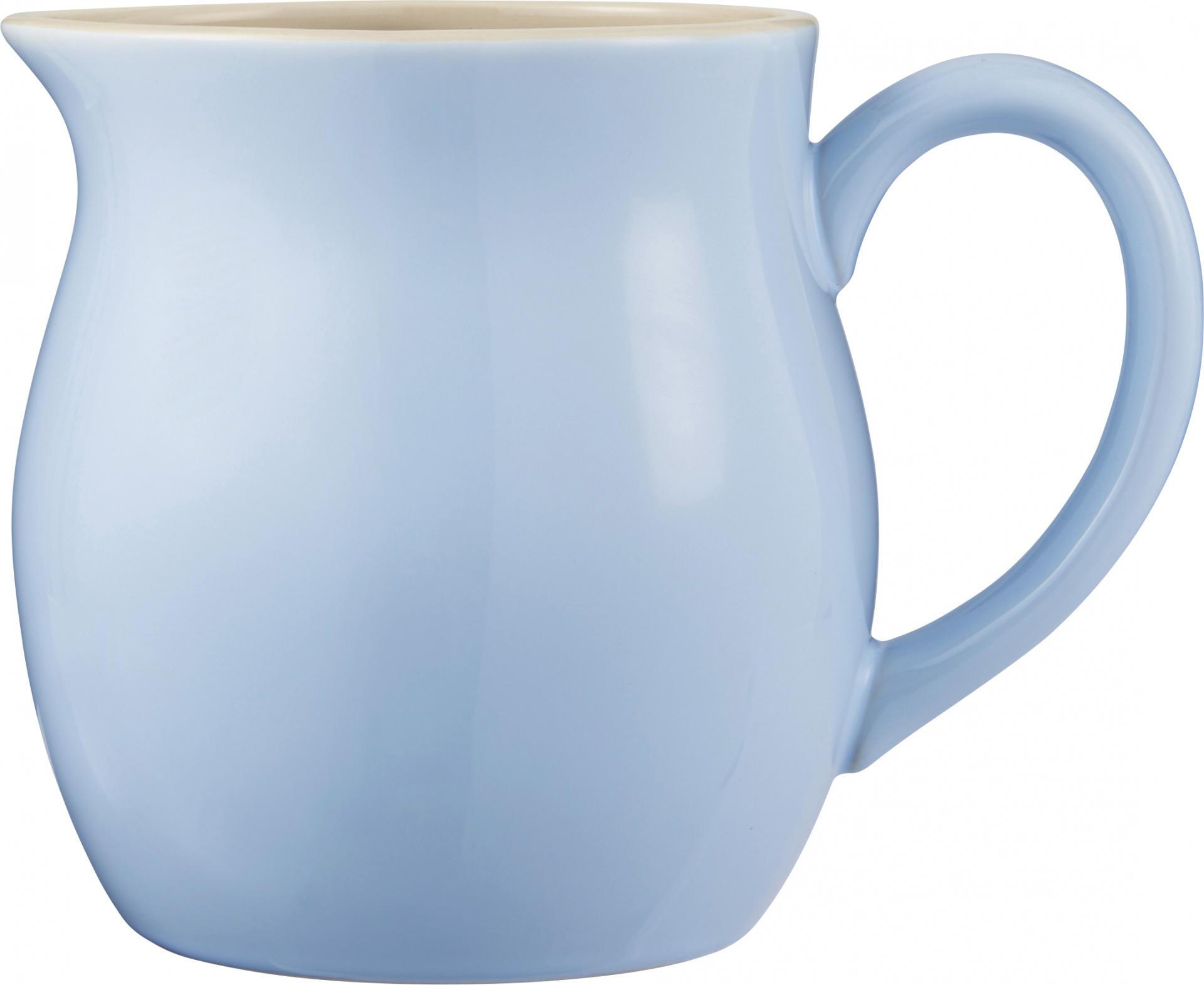 IB LAURSEN Džbán Mynte Nordic Sky 2,5 L, modrá barva, keramika