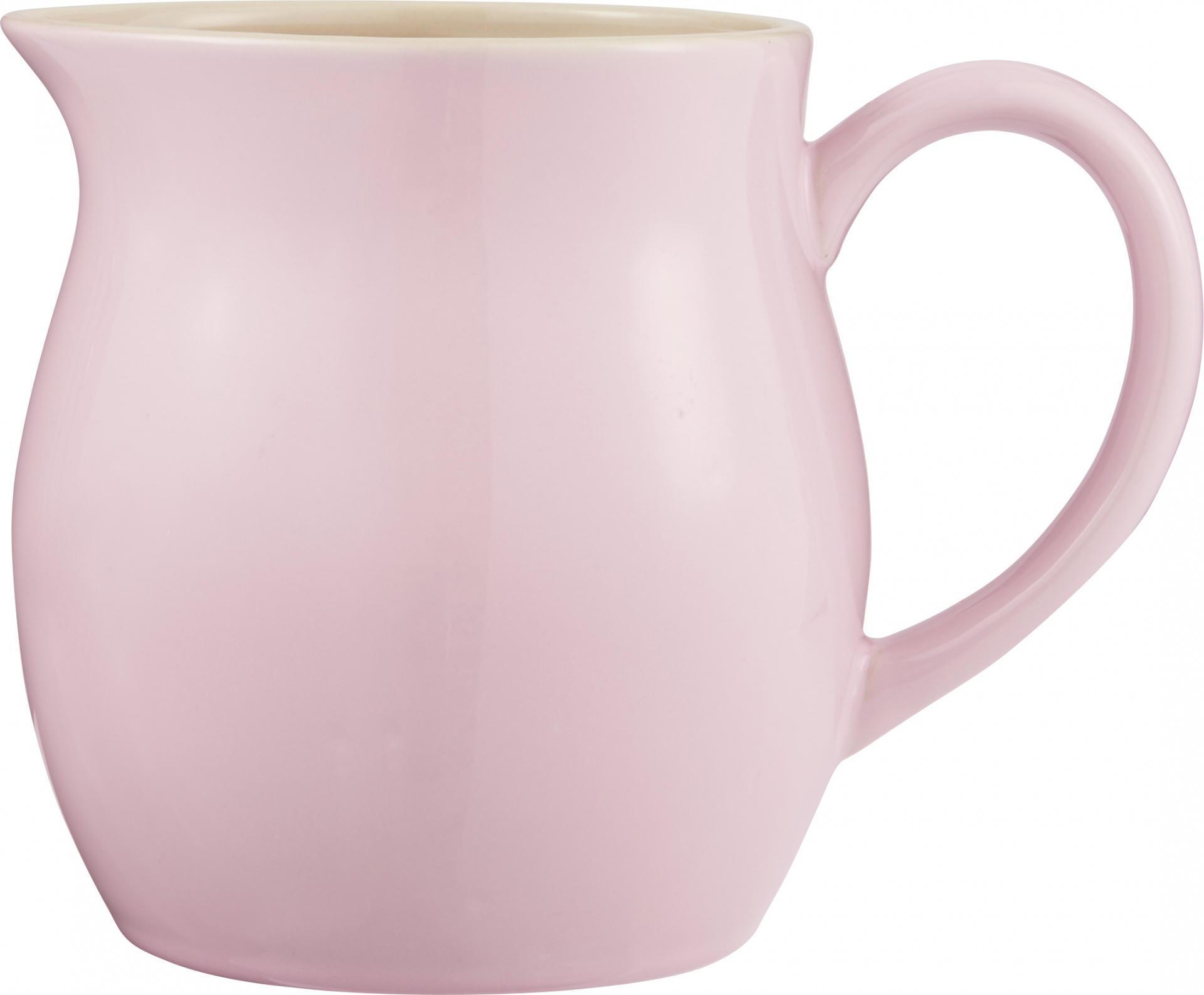 IB LAURSEN Džbán Mynte English Rose 2,5 l, růžová barva, keramika