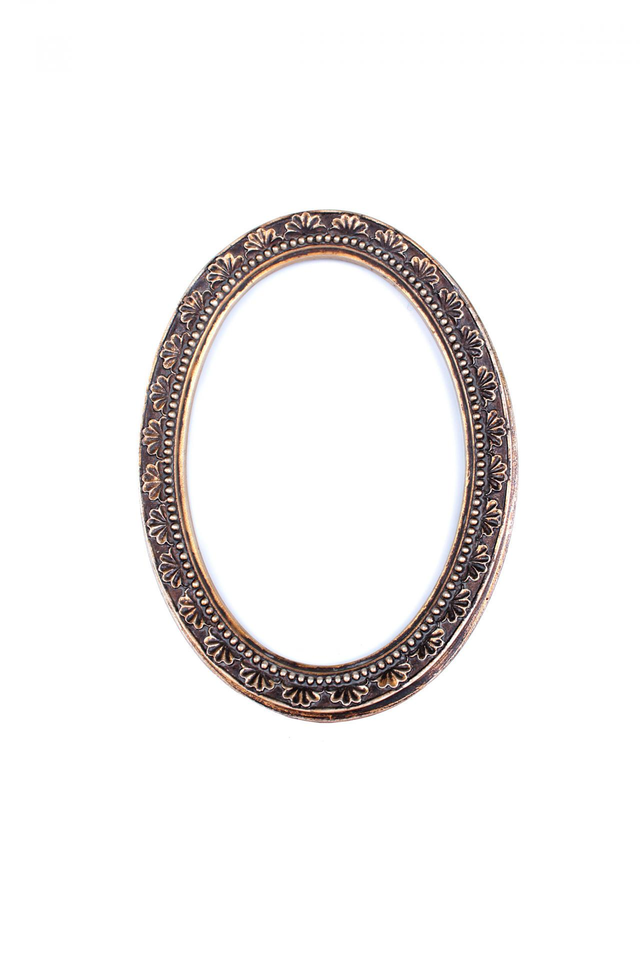 Chic Antique Fotorámeček Antik gold oval