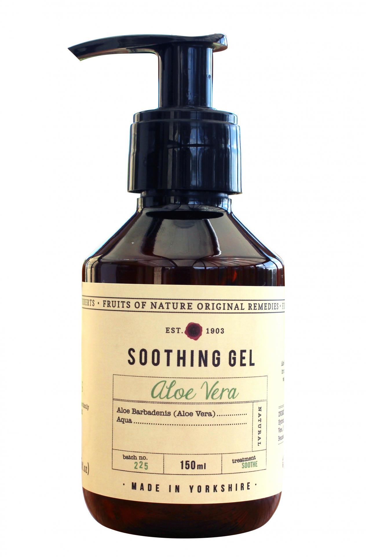 Fikkerts Zklidňující gel s aloe vera 150 ml