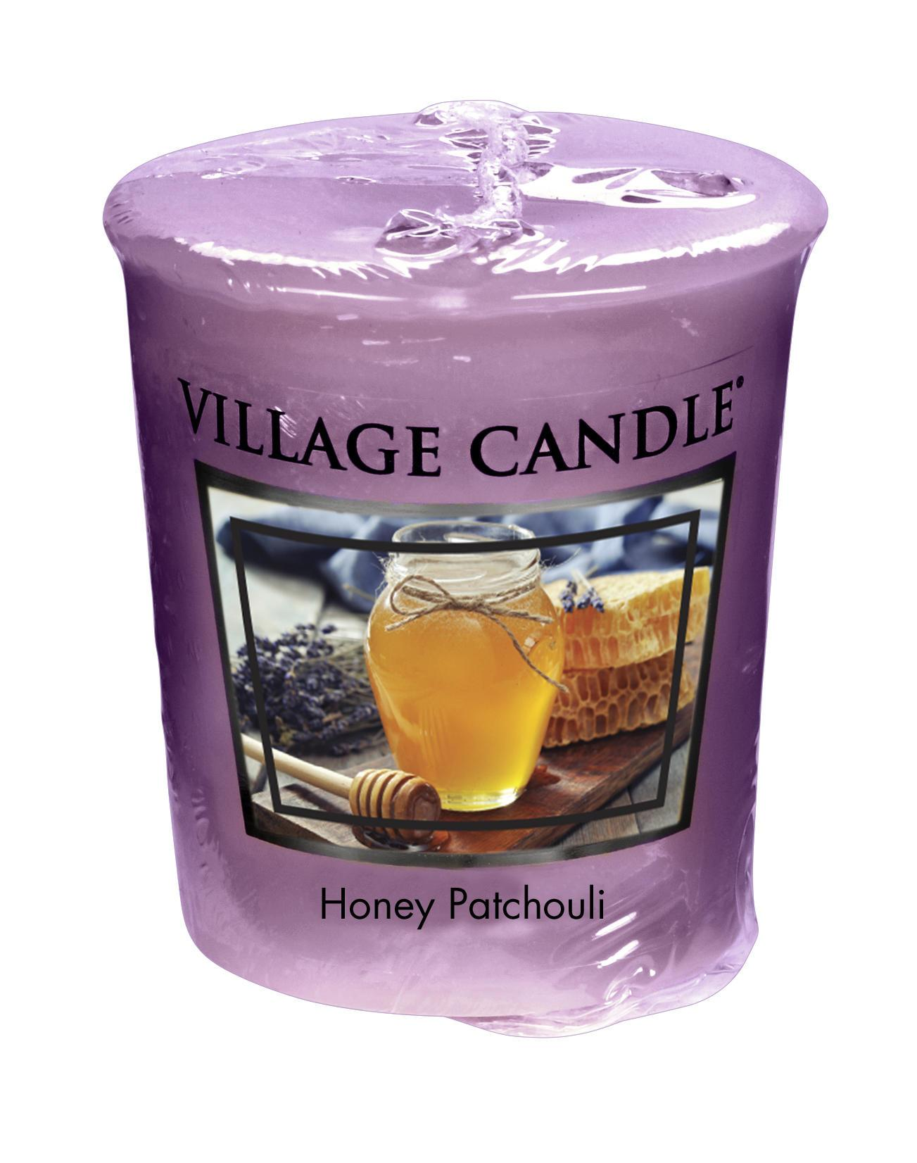 Village Candle Votivní svíčka Village Candle - Honey Patchouli