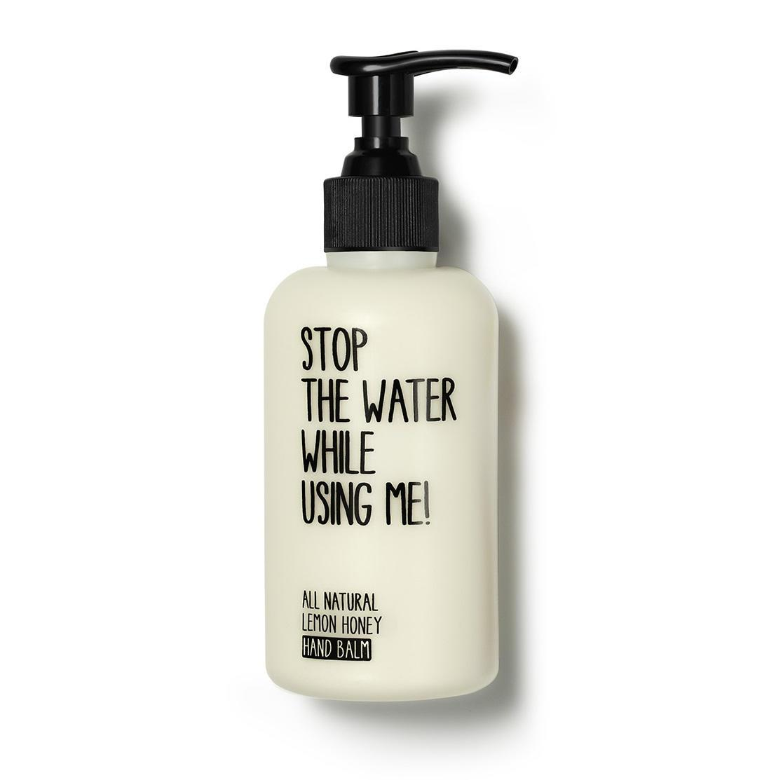 Stop The Water While Using Me Krém na ruce Lemon Honey 200 ml