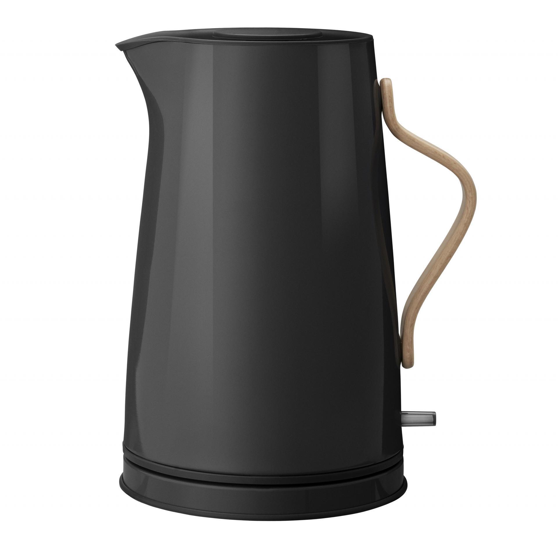 Stelton Rychlovarná konvice Emma Black, černá barva, kov