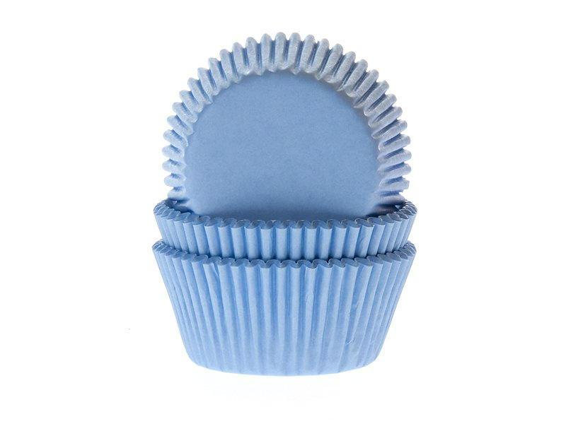 TAFELGUT Košíčky na pečení Light Blue - 50 ks, modrá barva, papír