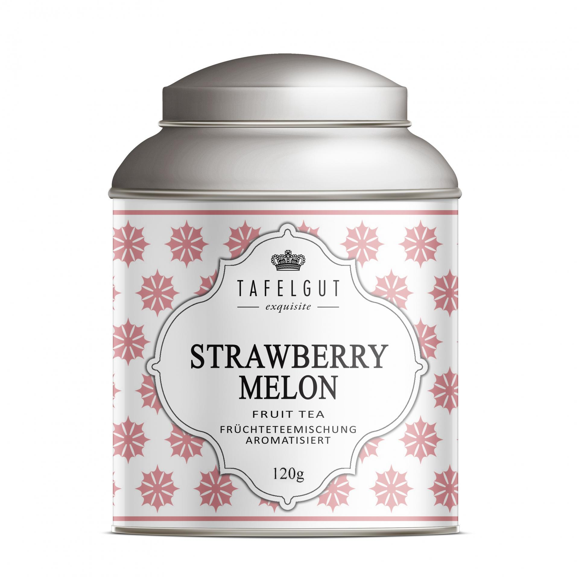 TAFELGUT Ovocný čaj Strawberry Melon - 120gr