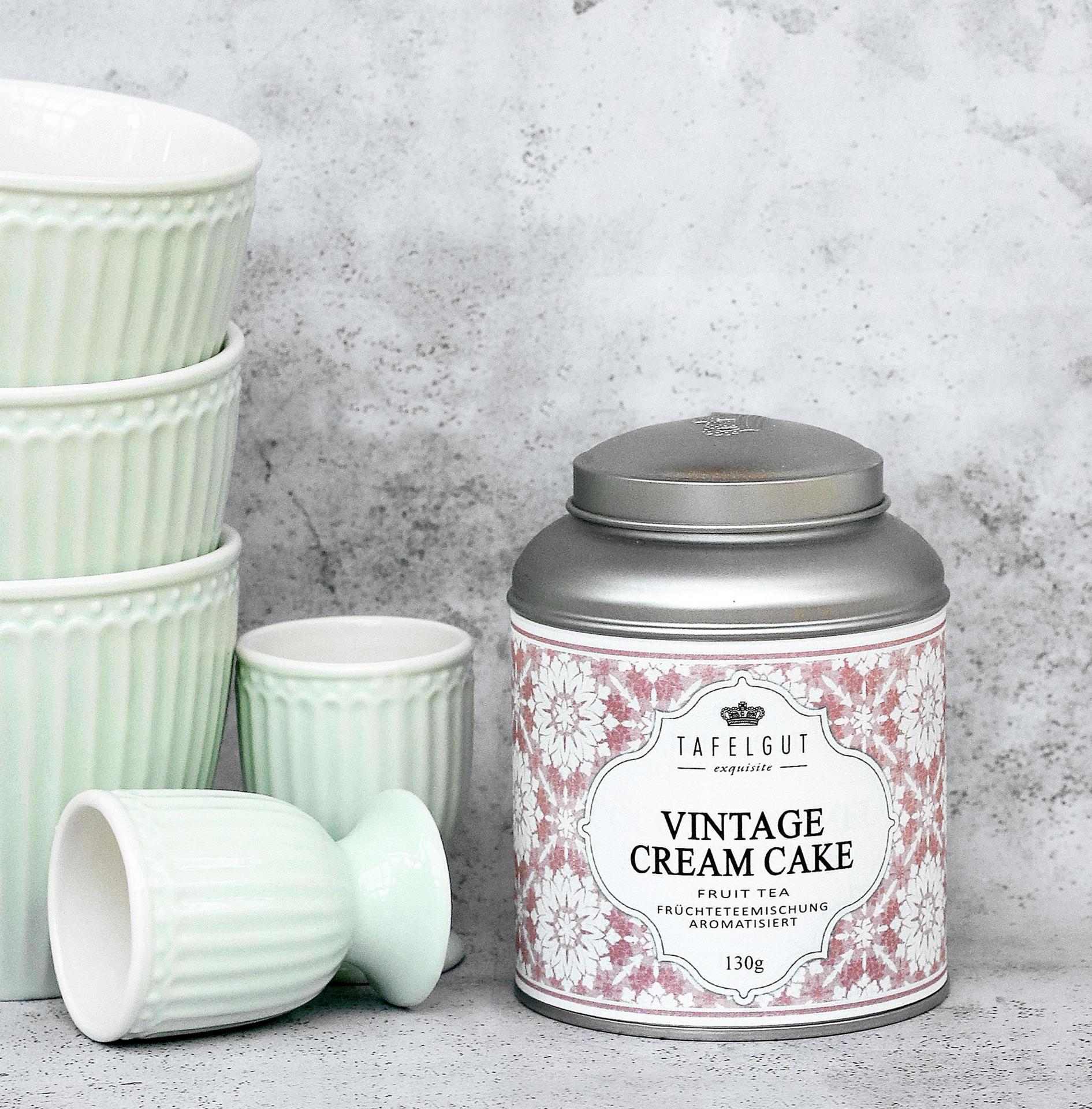 TAFELGUT Ovocný čaj Vintage Cream Cake - 130gr, růžová barva, kov