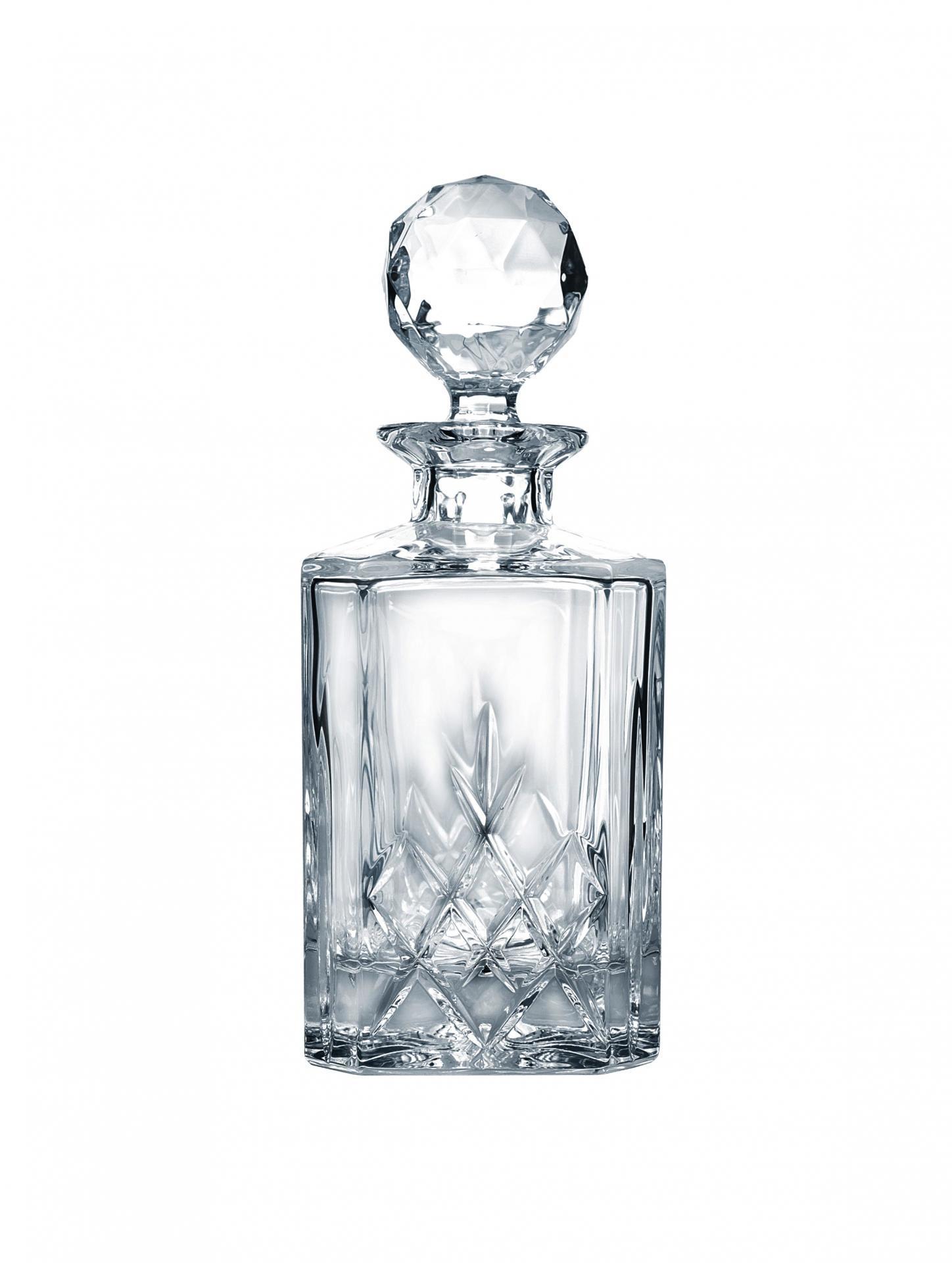 CRYSTAL BOHEMIA Křišťálová karafa Diamond Crystal BOHEMIA 0,8 l, čirá barva, sklo