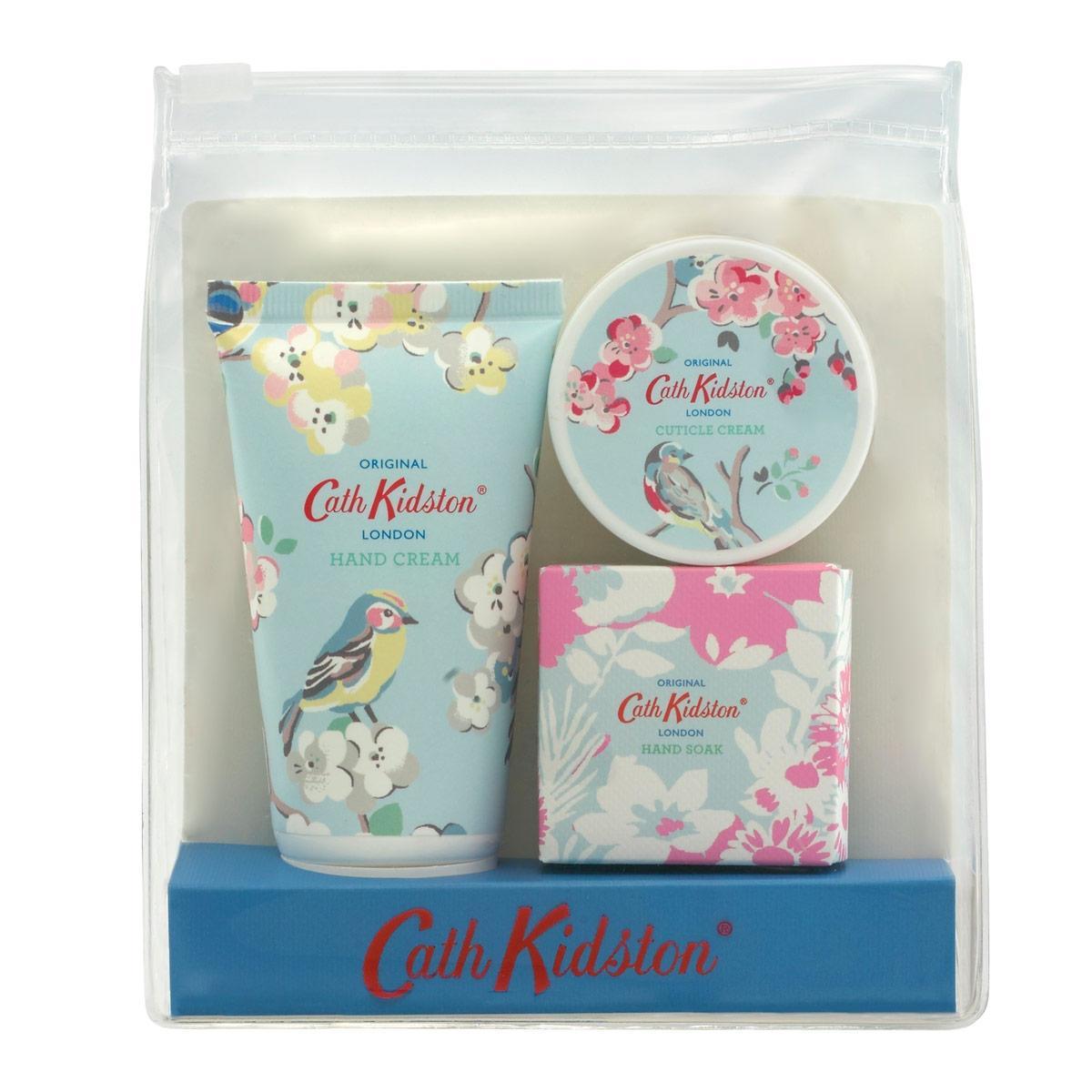 Cath Kidston Cestovní sada na manikúru Apple blossom & Elderflower