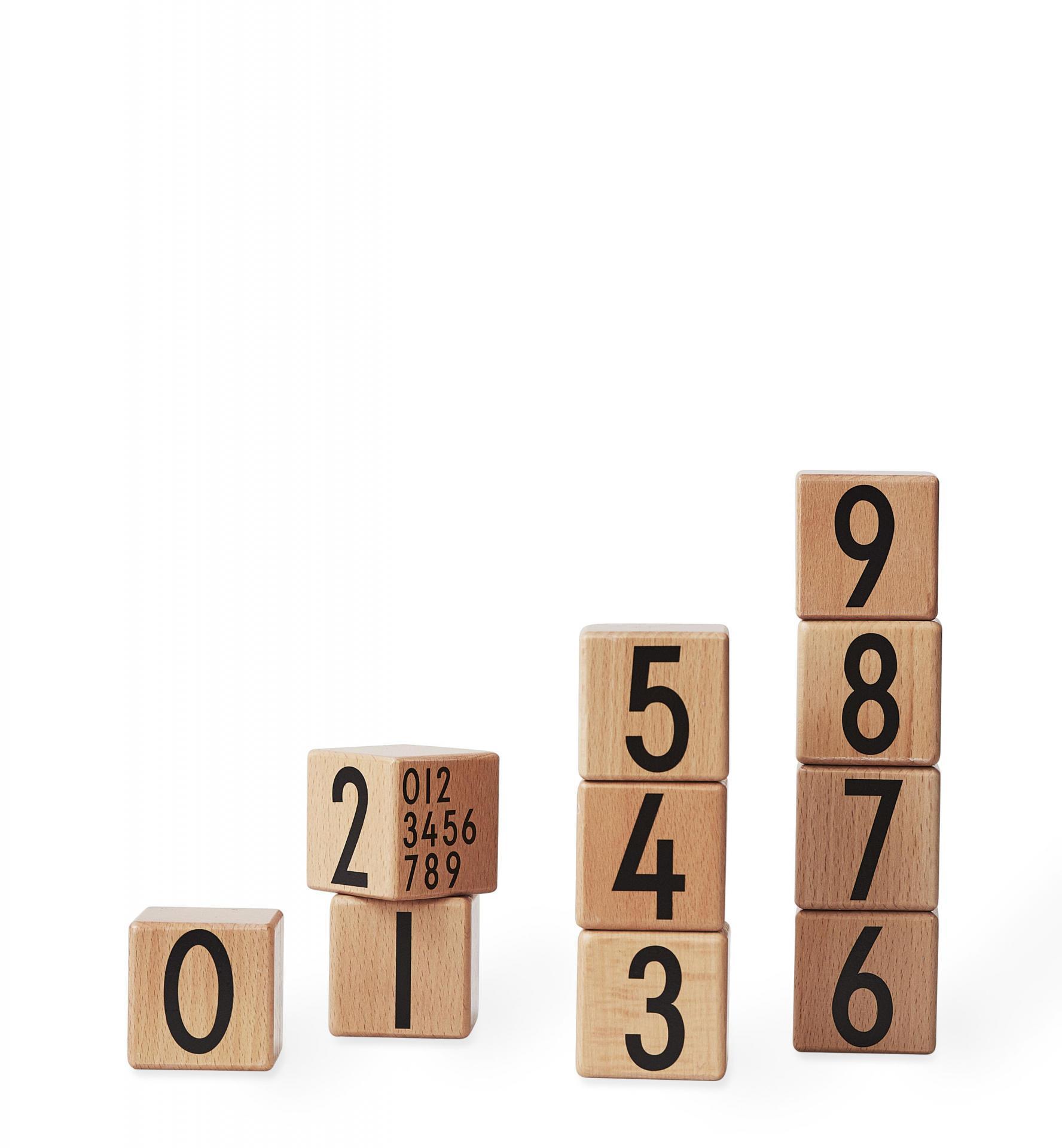 Design Letters Dřevěné kostky Wooden