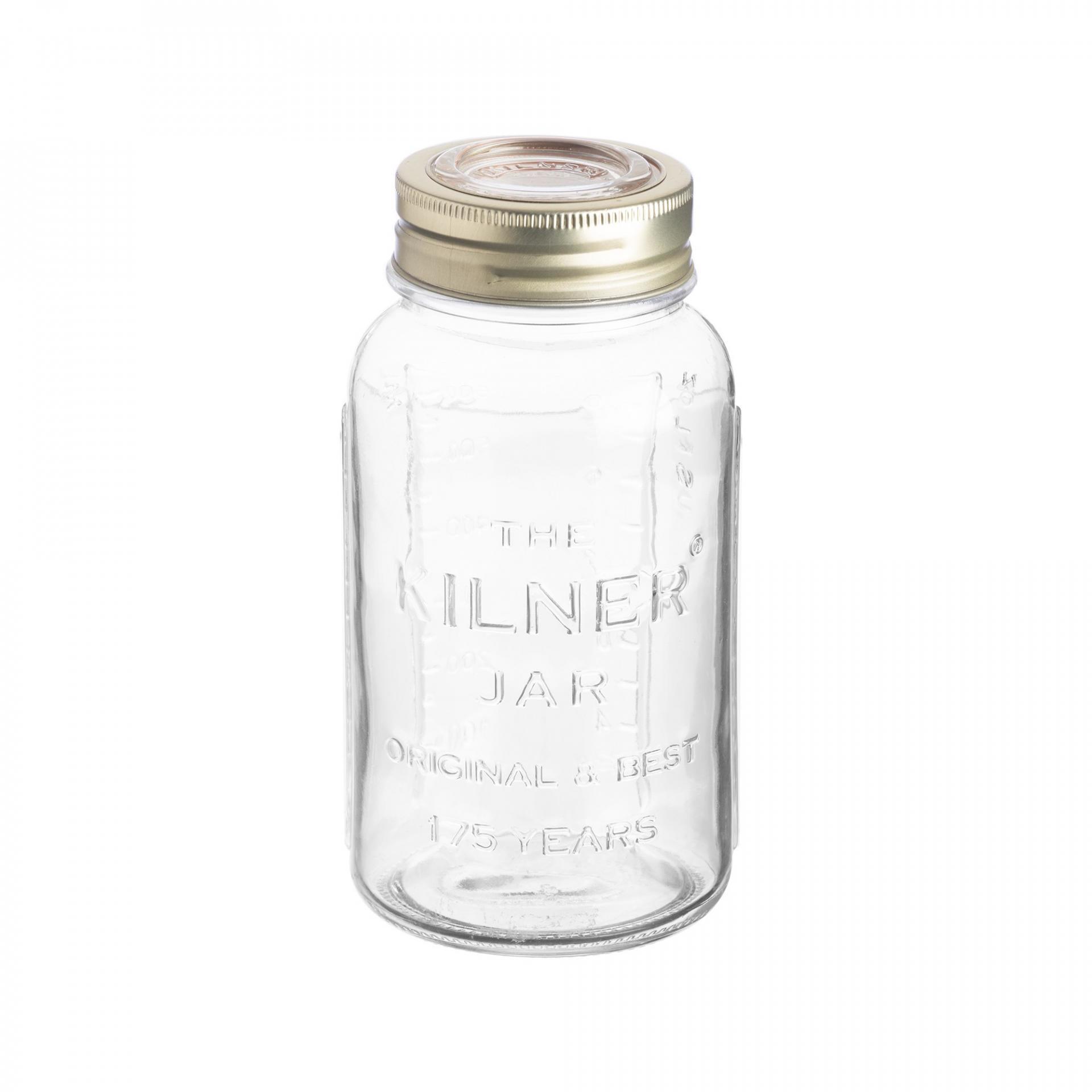 KILNER Kulatá zavařovací sklenice 1,5 l