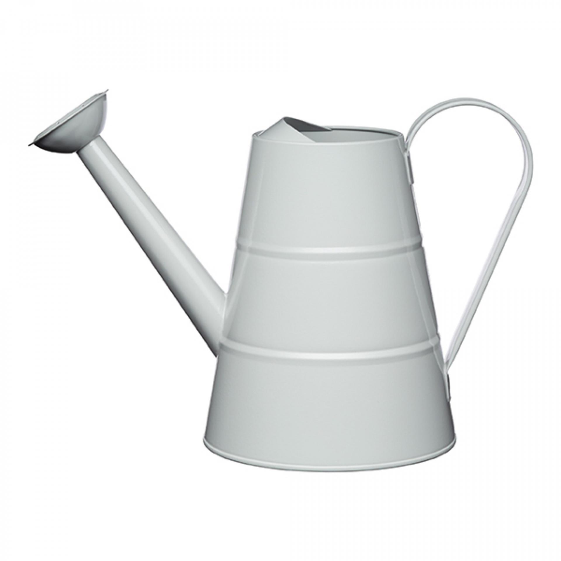 Kitchen Craft Zahradní konev French grey 2,3 l, šedá barva, kov