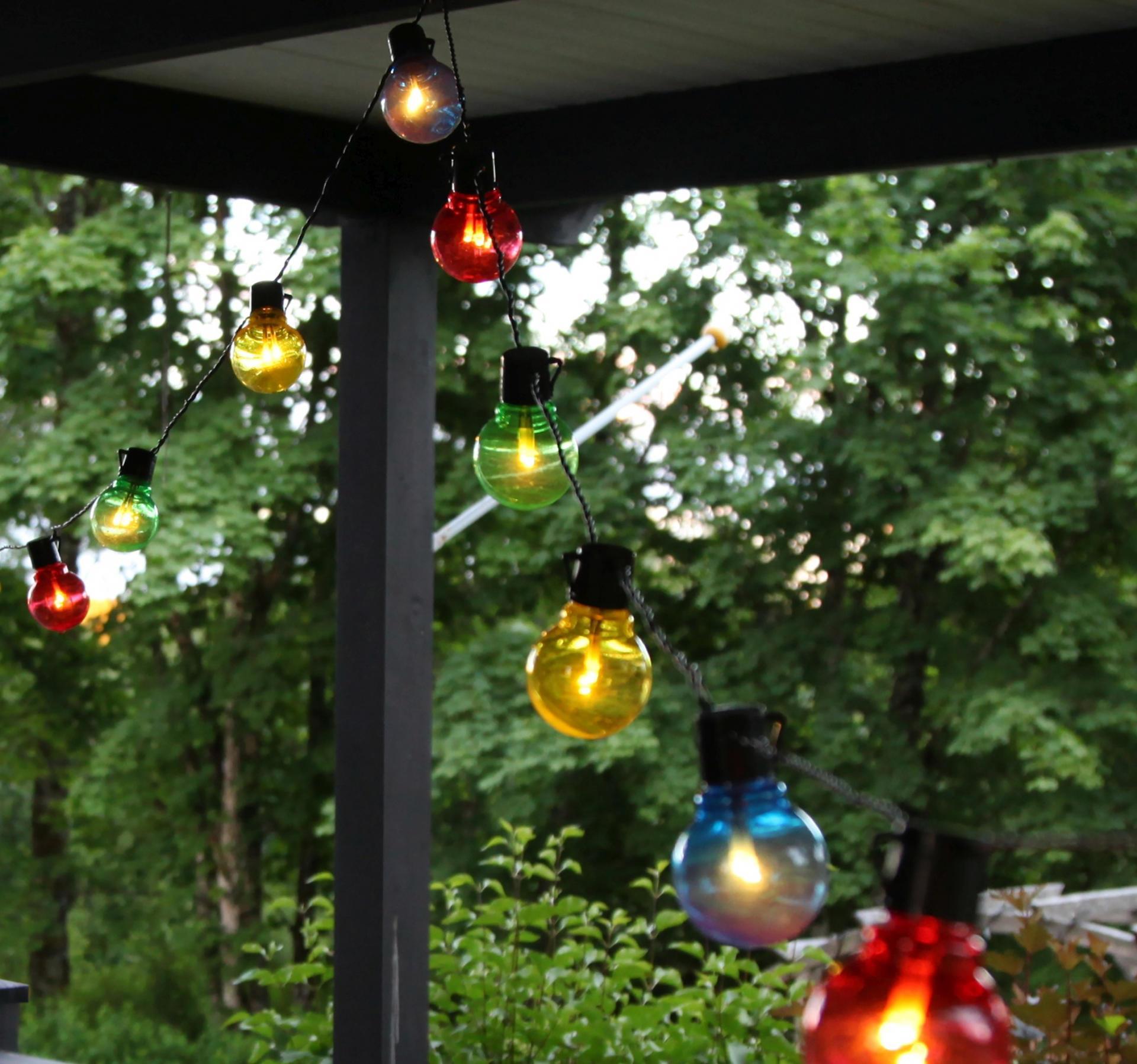 Star Trading Světelný LED řetěz Colour - 16 žárovek