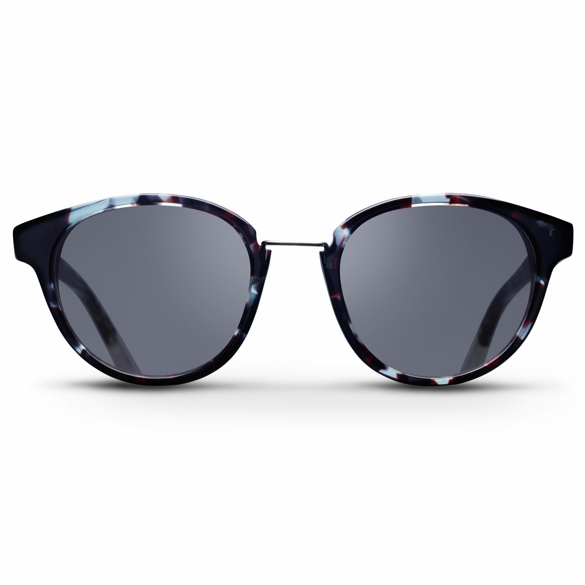 TRIWA Dámské sluneční brýle Triwa - Indigo Turtle Nicki, modrá barva, černá barva, sklo, kov, plast
